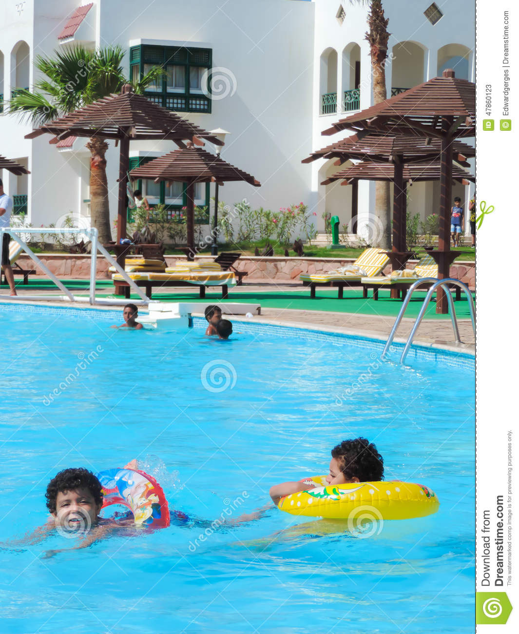 People in swimming pool editorial stock photo image of - Wetherby swimming pool swim times ...