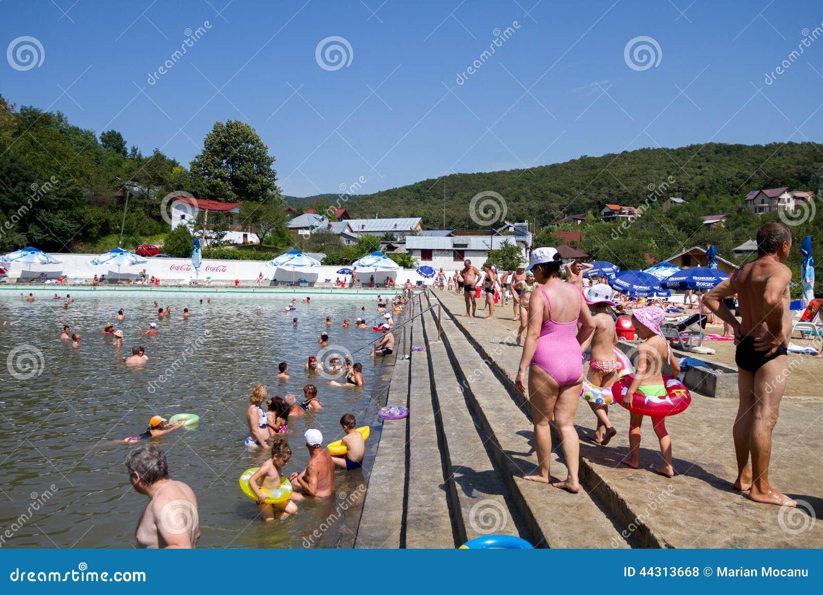 People swimming in public pool editorial stock photo image 44313668 for Alderwood pool public swim times