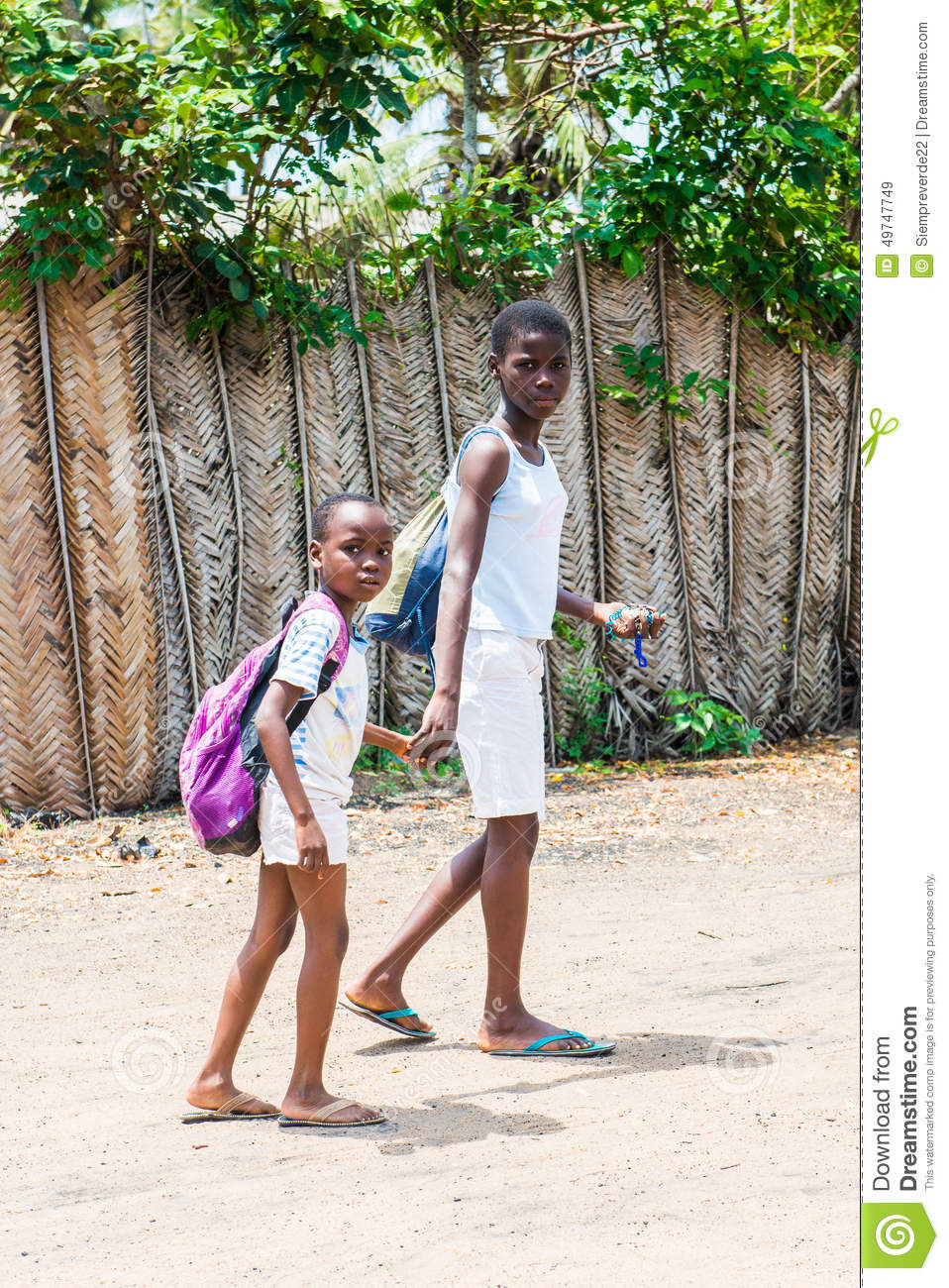 People in Togo, Africa