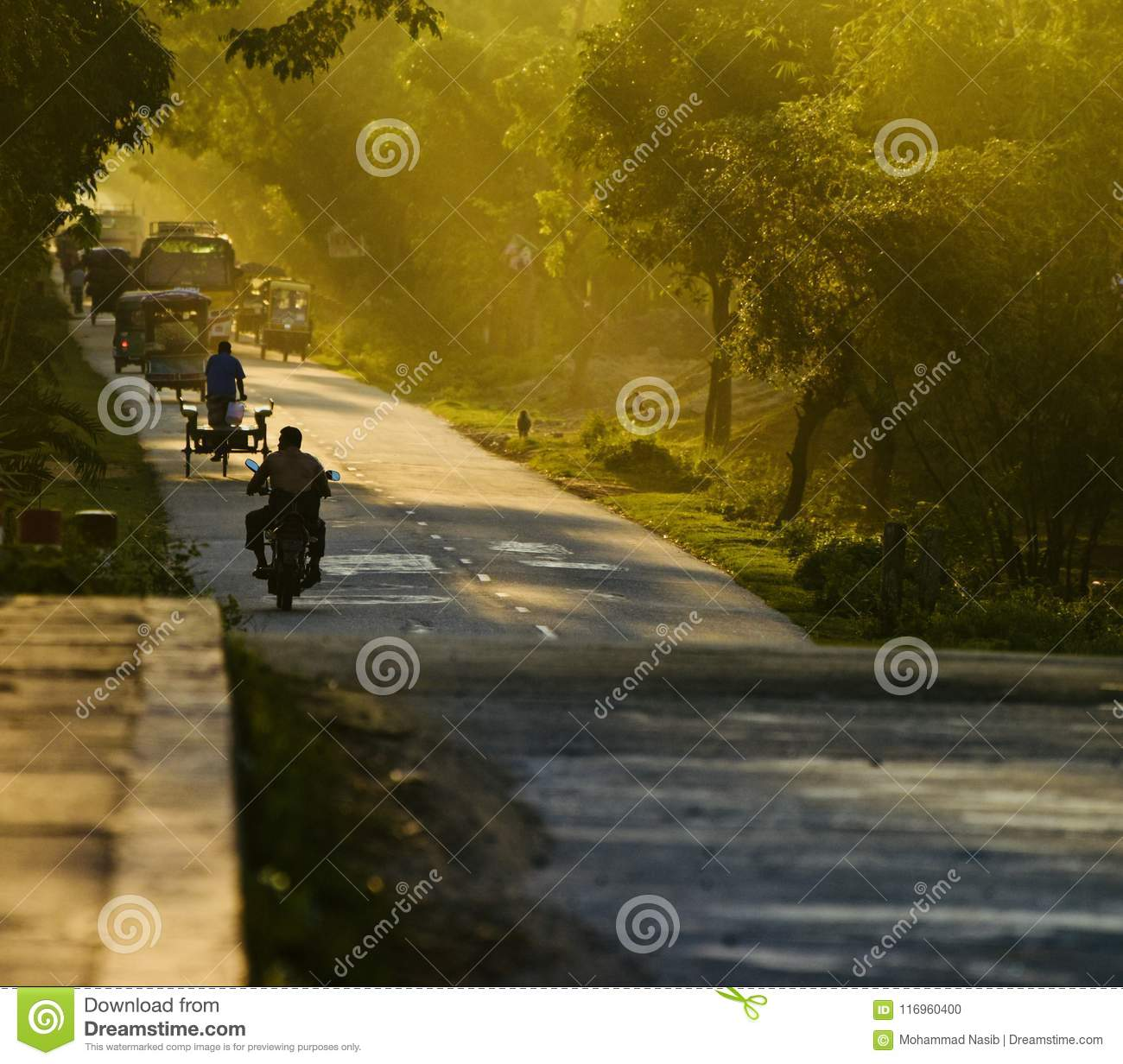 Download People Travelling On A Highway Road In The Afternoon Editorial Image - Image of bangladeshi, highway: 116960400