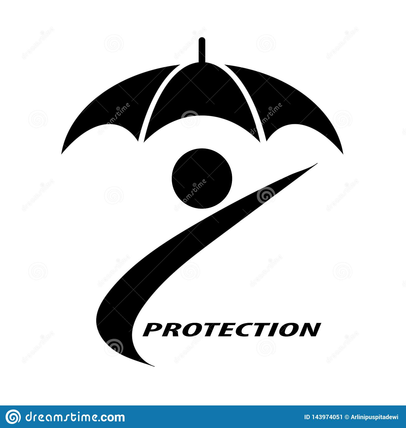 People and umbrellas that symbolize insurance protection for individuals