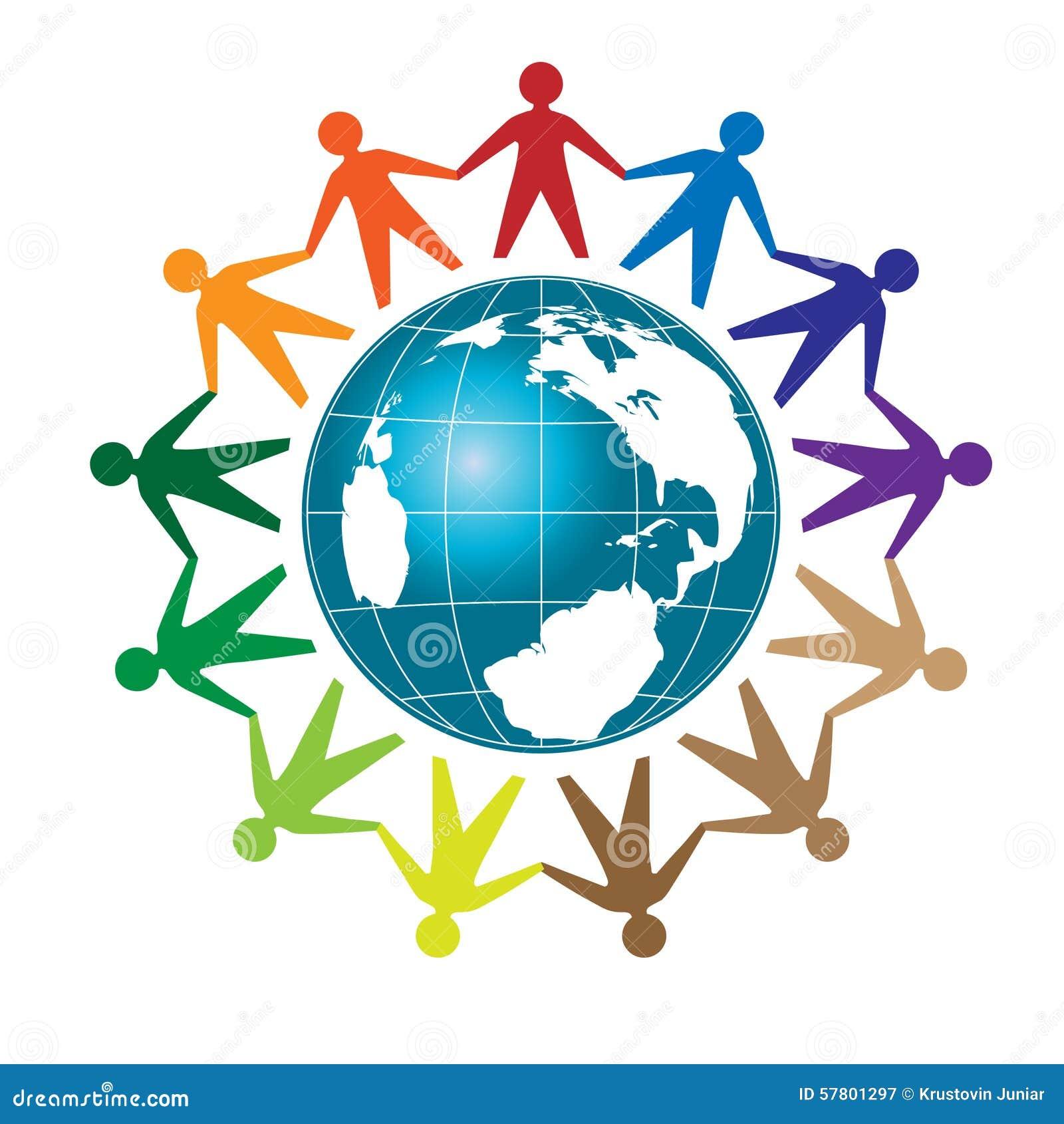 people unity stock vector image 57801297