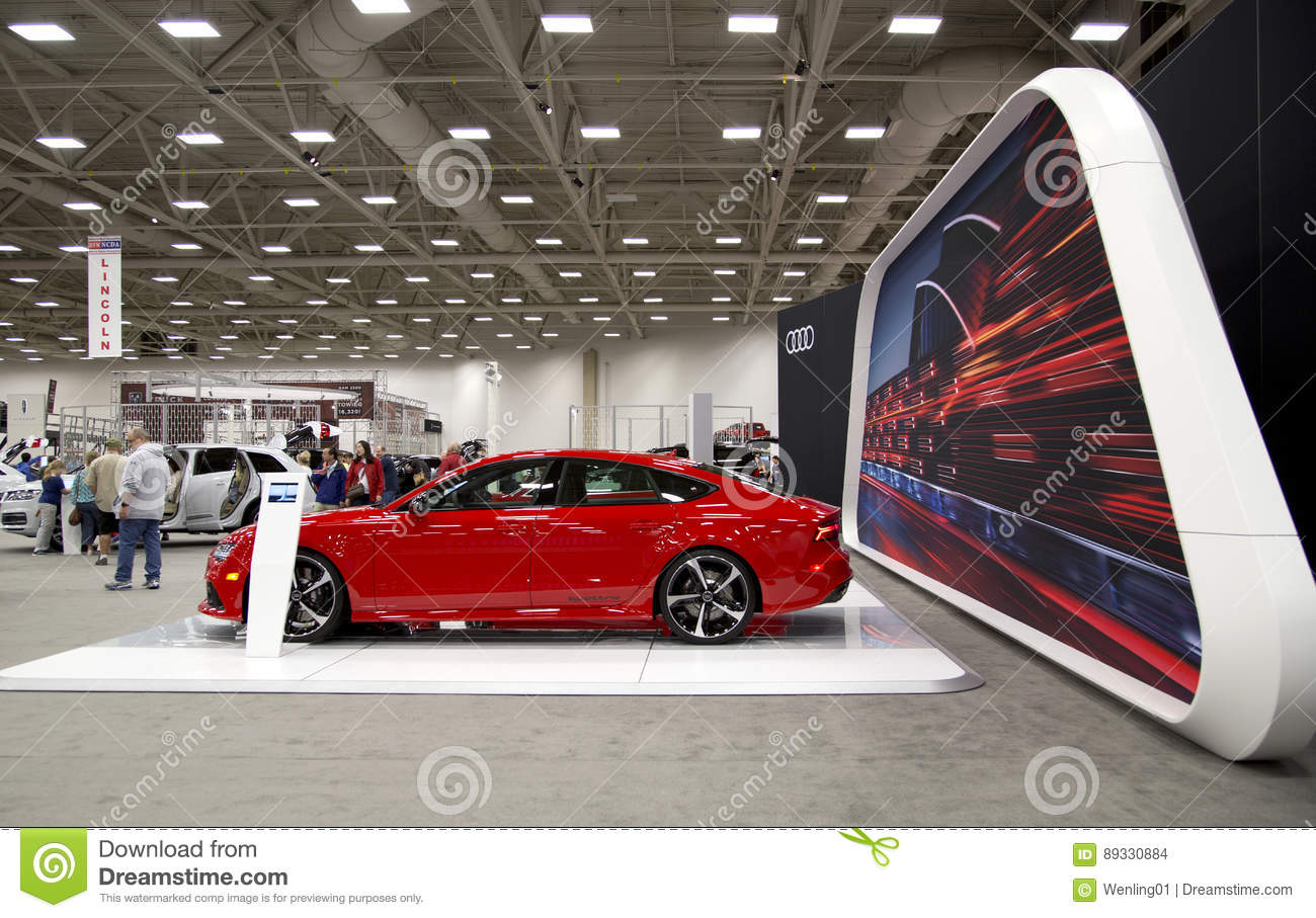 Dallas Auto Show >> People Visit Auto Show In Dallas Tx Editorial Stock Image