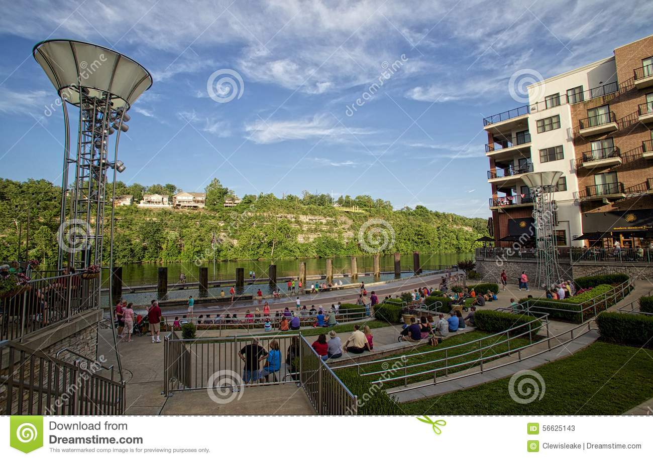 Branson Landing In Downtown Missouri Editorial Stock Photo