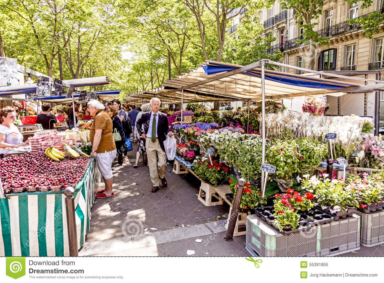 Gourmet Food Market Paris