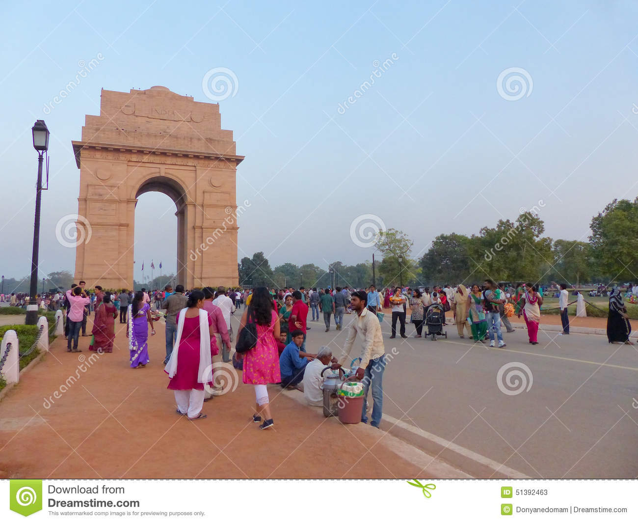 people walking around india gate in new delhi editorial Iron Gate Clip Art pictures of india gate clipart