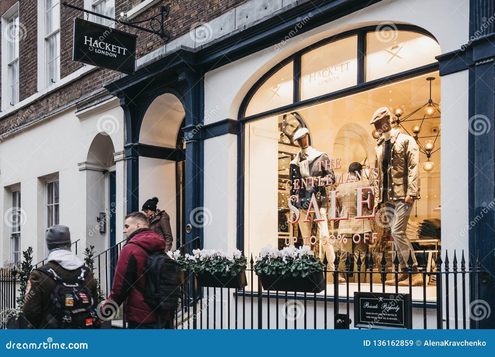 Outstanding People Walking Past Hackett Shop In Covent Garden London Inzonedesignstudio Interior Chair Design Inzonedesignstudiocom