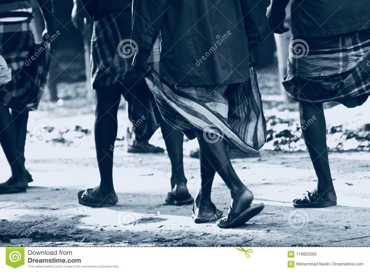 Download People Walking On The Road Isolated Unique Photograph Stock Photo - Image of creative, road: 116825082