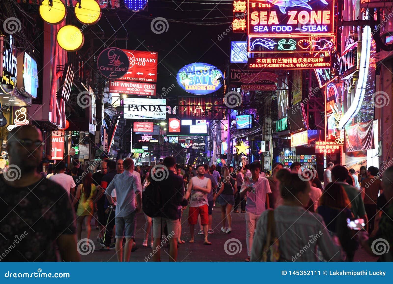 Thailand pattaya nightlife in Pattaya Thailand