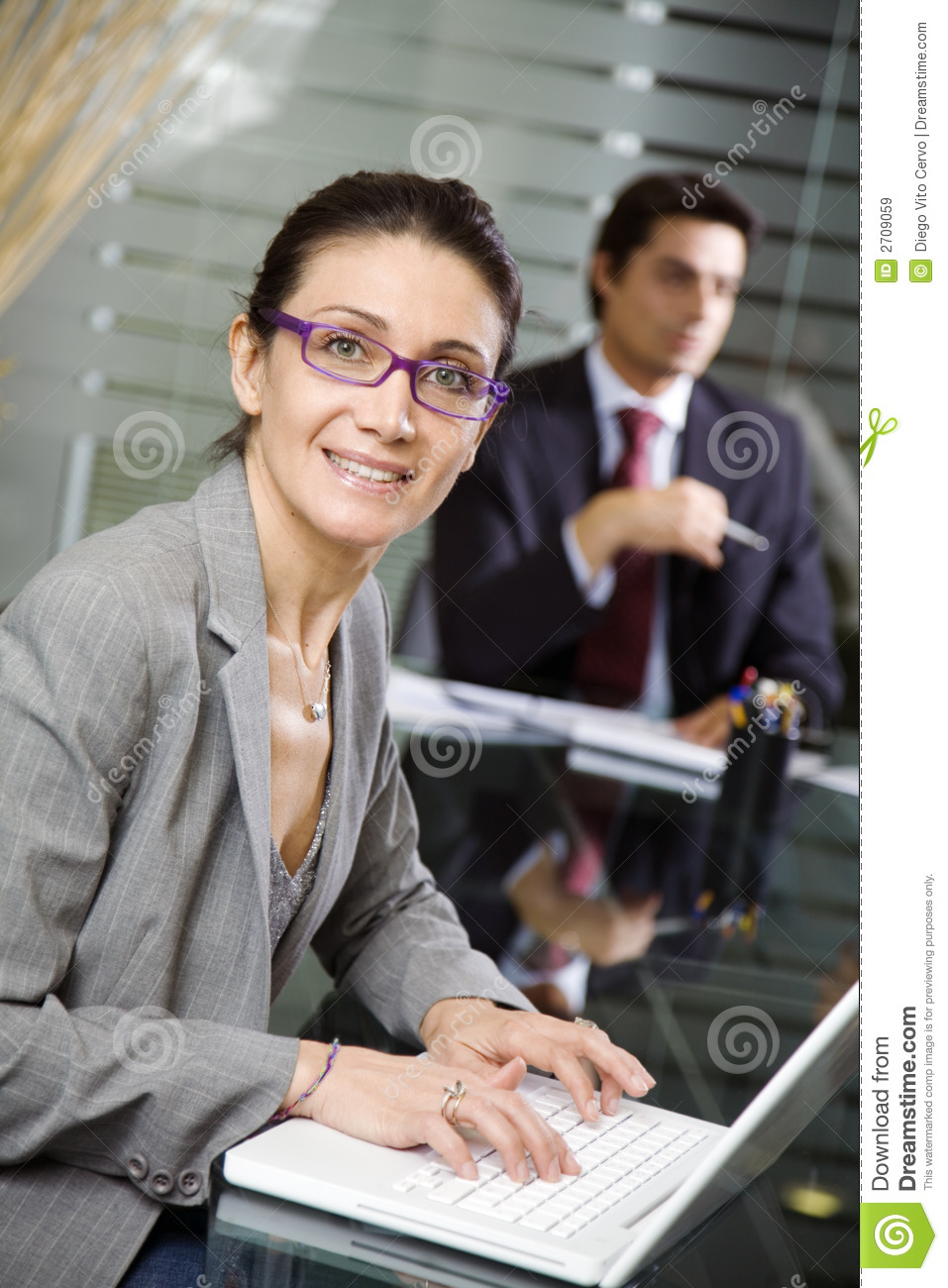 working during royalty businesswoman meeting laptop preview dreamstime