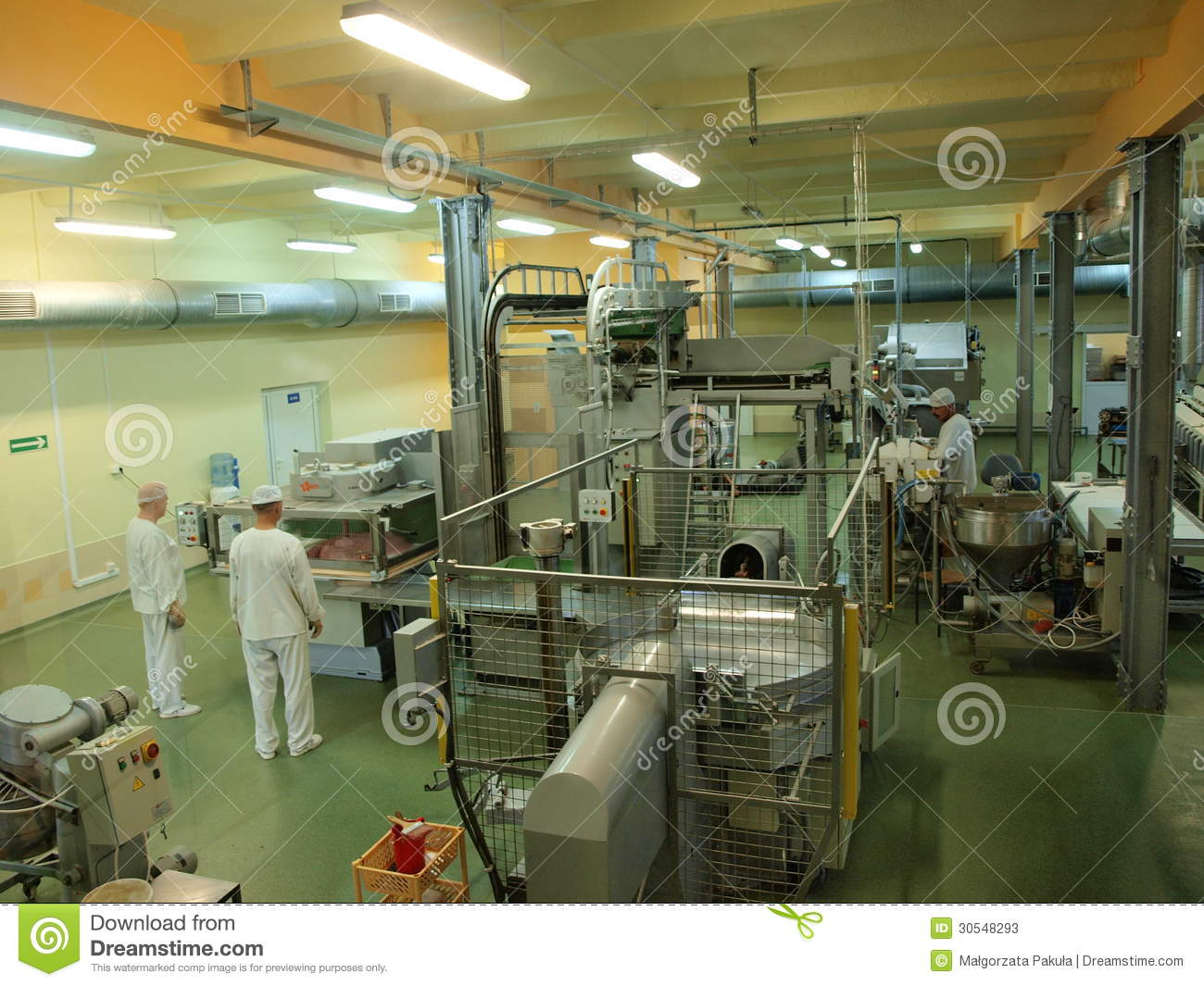 People At Work, Candy Factory, Lublin, Poland Editorial ...