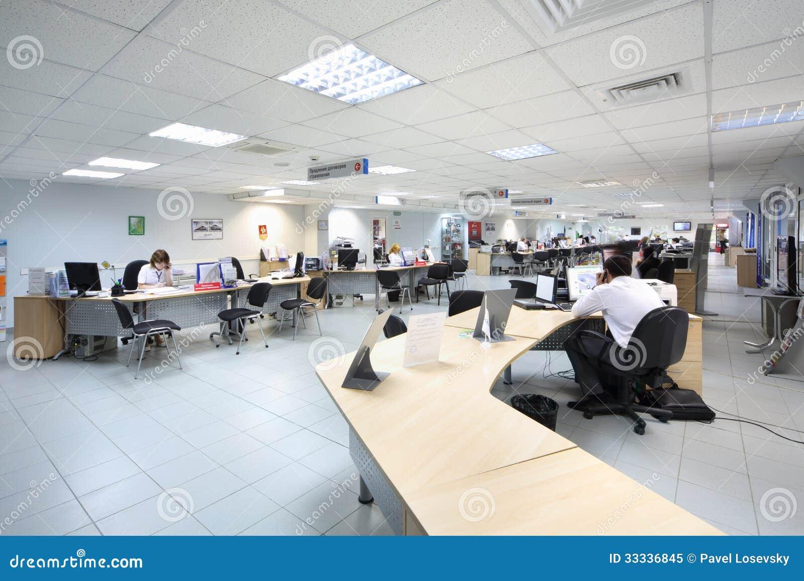 people work at computers in dealership avtomir editorial image image 33336845. Black Bedroom Furniture Sets. Home Design Ideas
