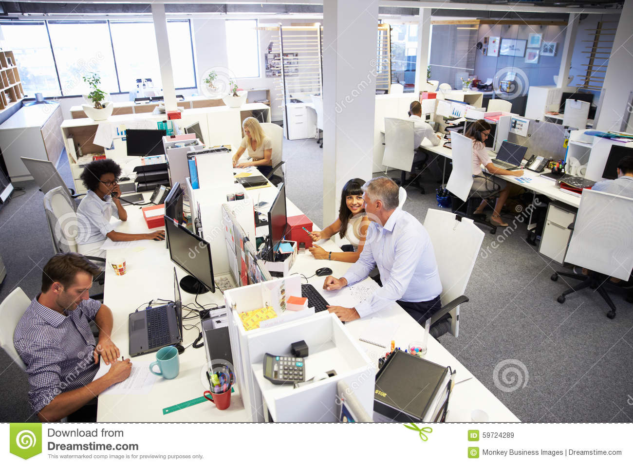 People In Office Working