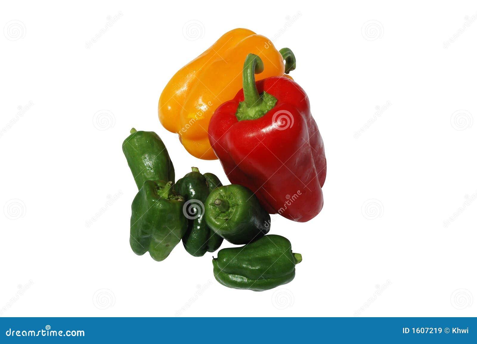 Peper en Paprika