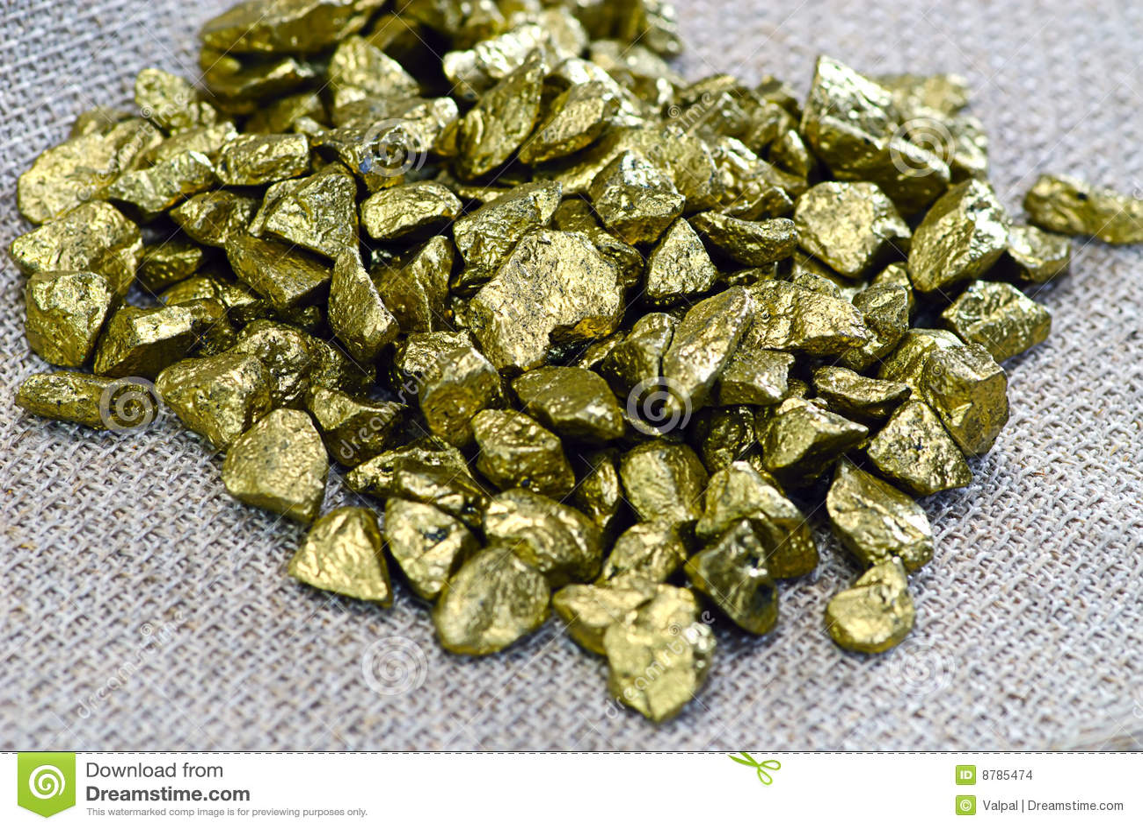 Pepitas De Oro Imagenes de archivo - Imagen: 8785474