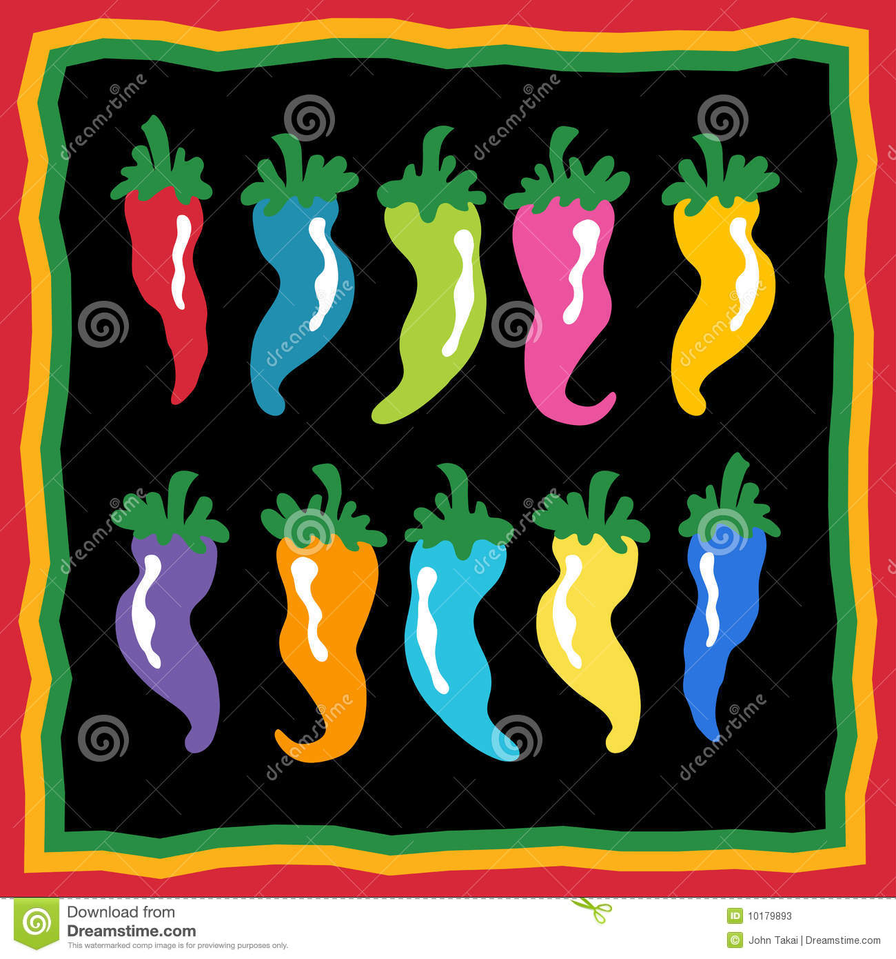 Pepper Background