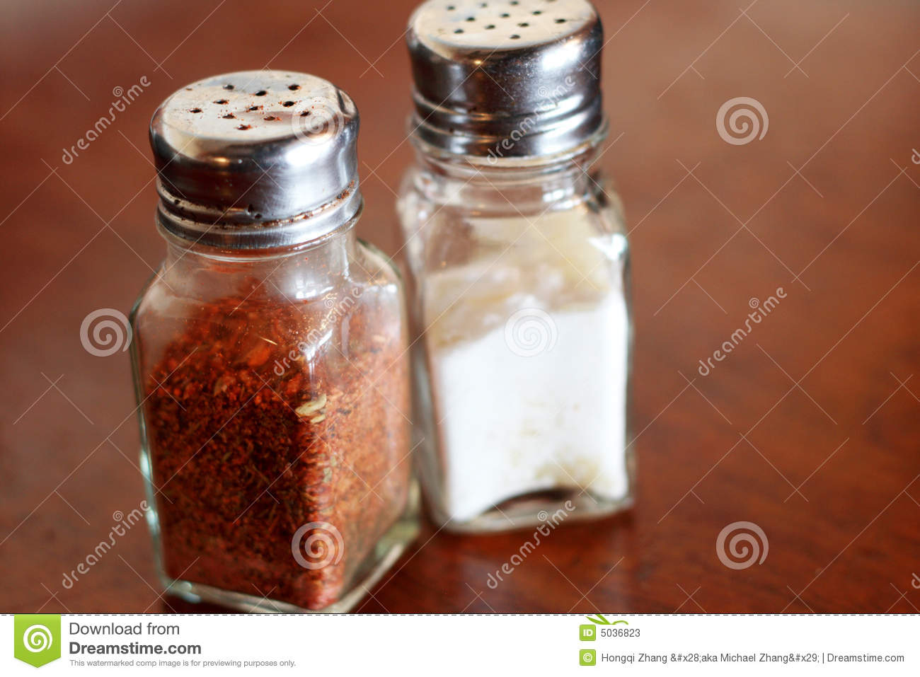 Pepper and salt