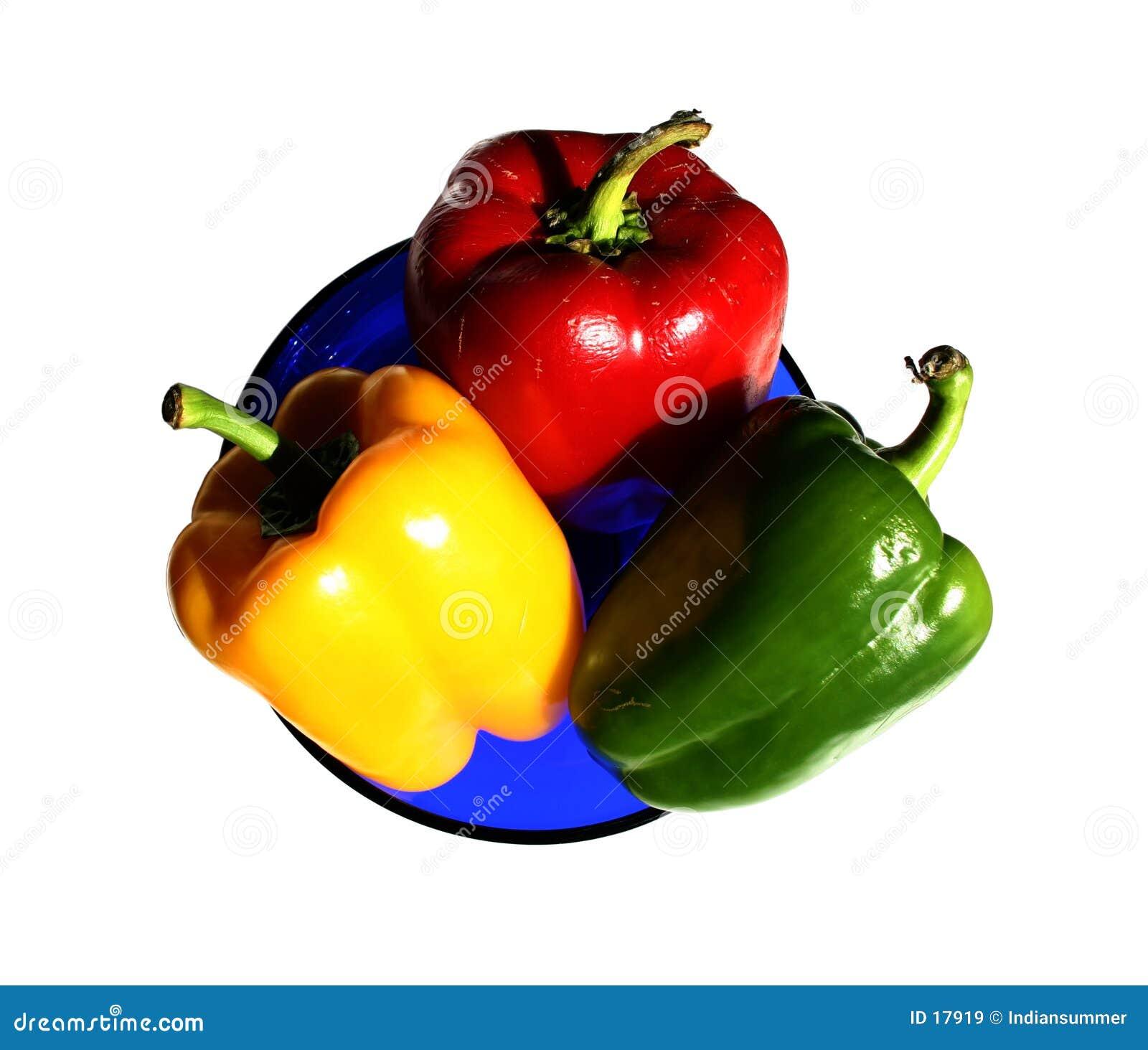 Peppera odosobnione płytki