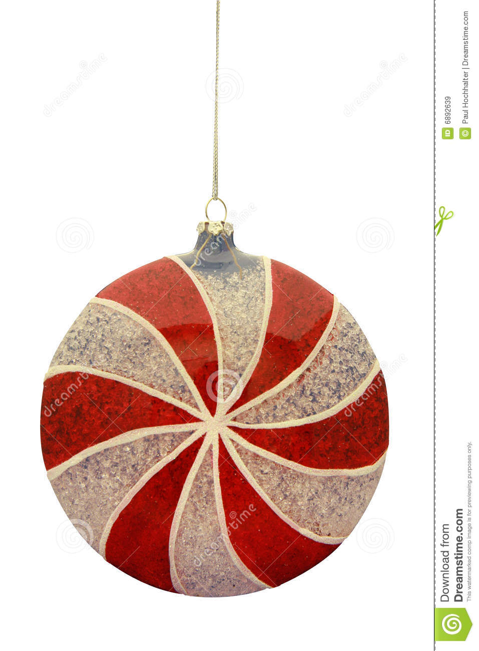 peppermint candy christmas ornament - Candy Christmas Ornaments
