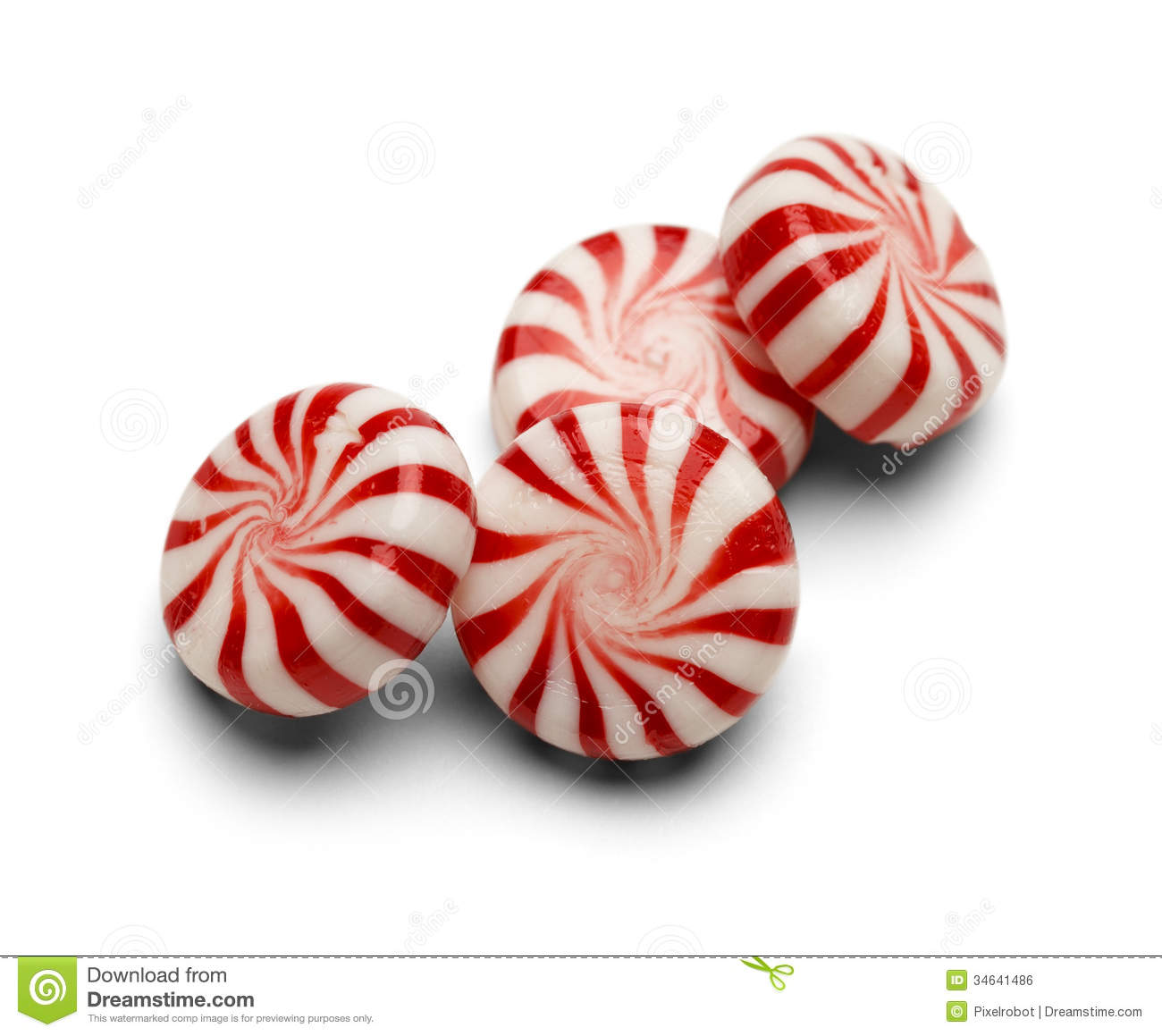 Peppermint Candy Royalty Free Stock Image - Image: 34641486