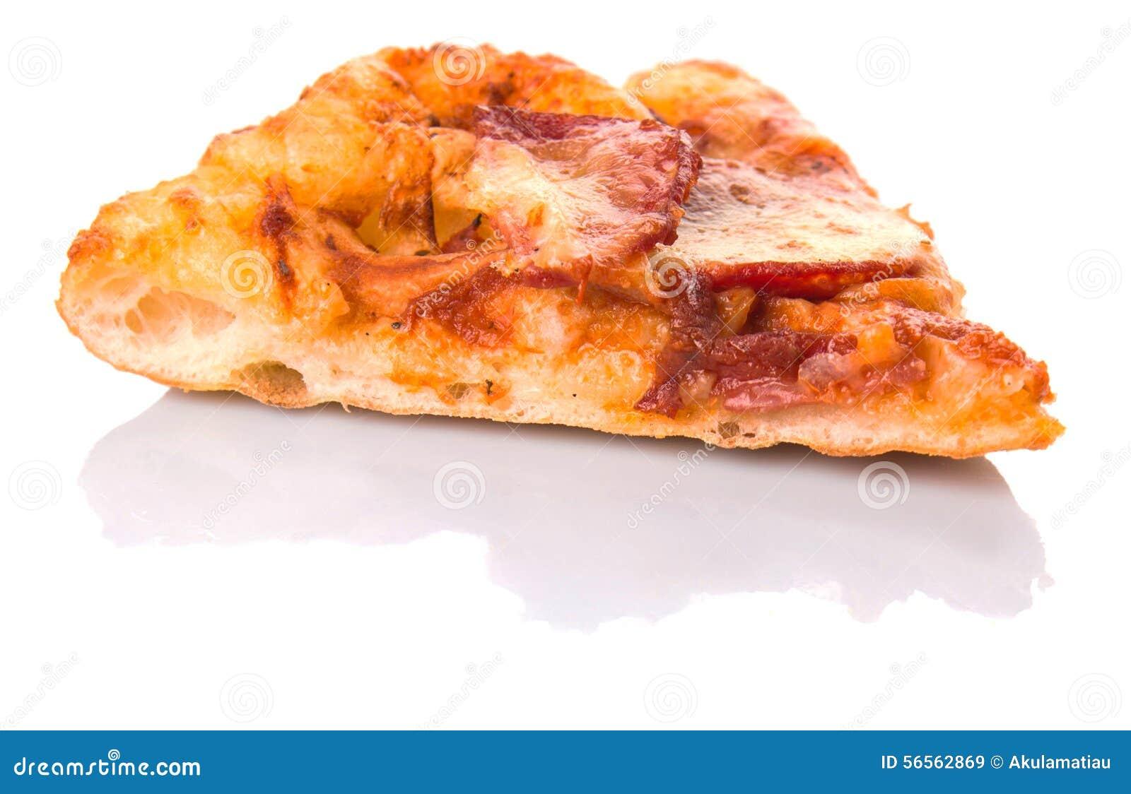 Download Pepperoni και πίτσα IV τυριών Στοκ Εικόνα - εικόνα από pepperoni, φρέσκος: 56562869