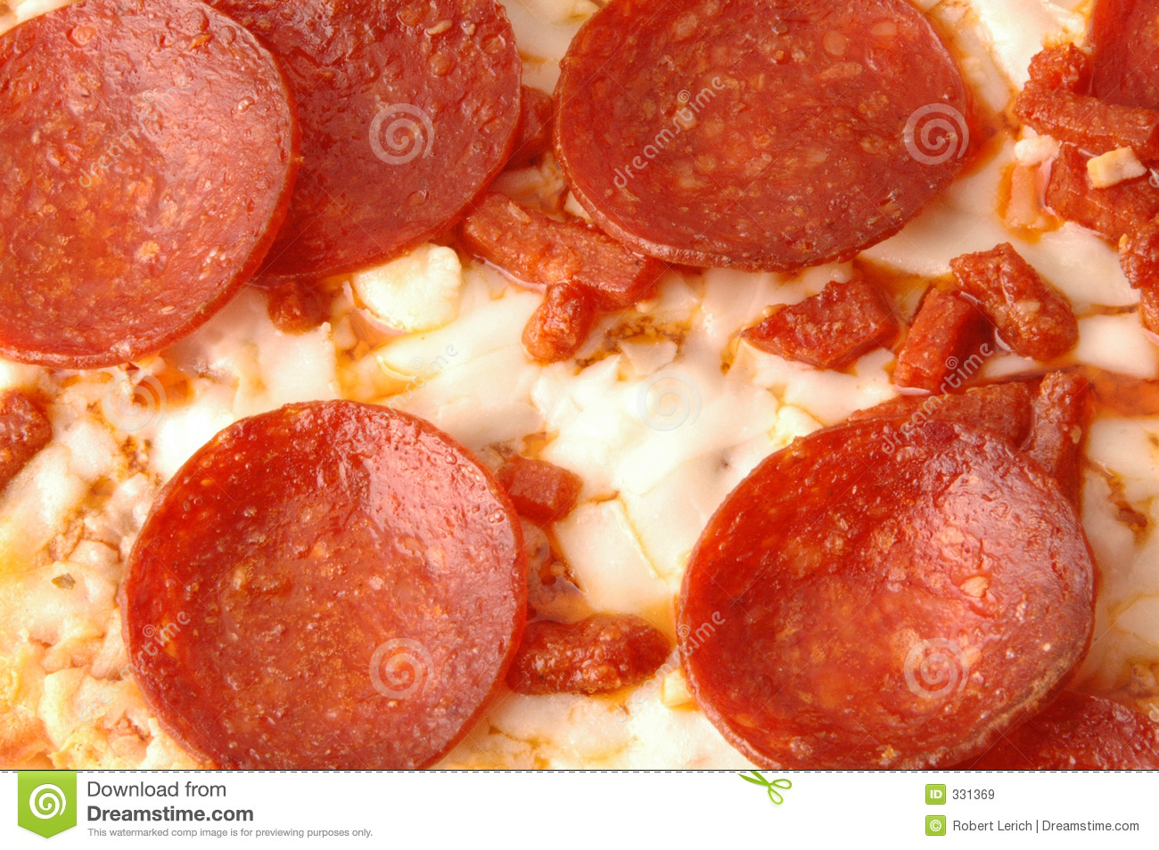 Pepperoni Pie 594 Royalty Free Stock Images - Image: 331369