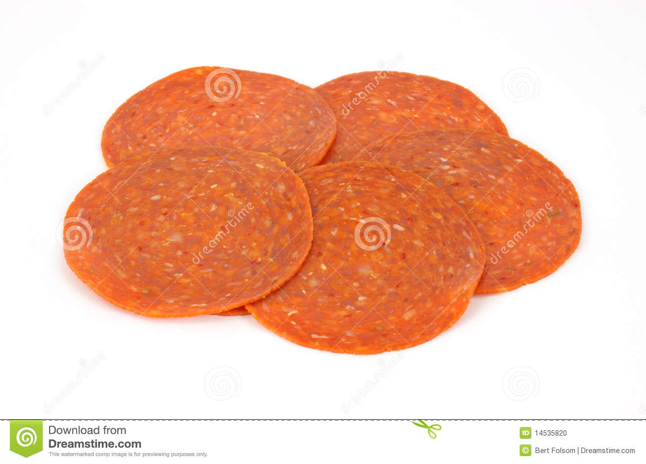 Pepperoni plasterki