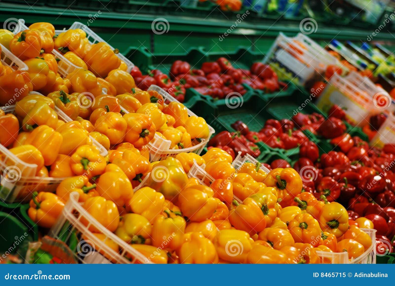 Pepprar supermarketen