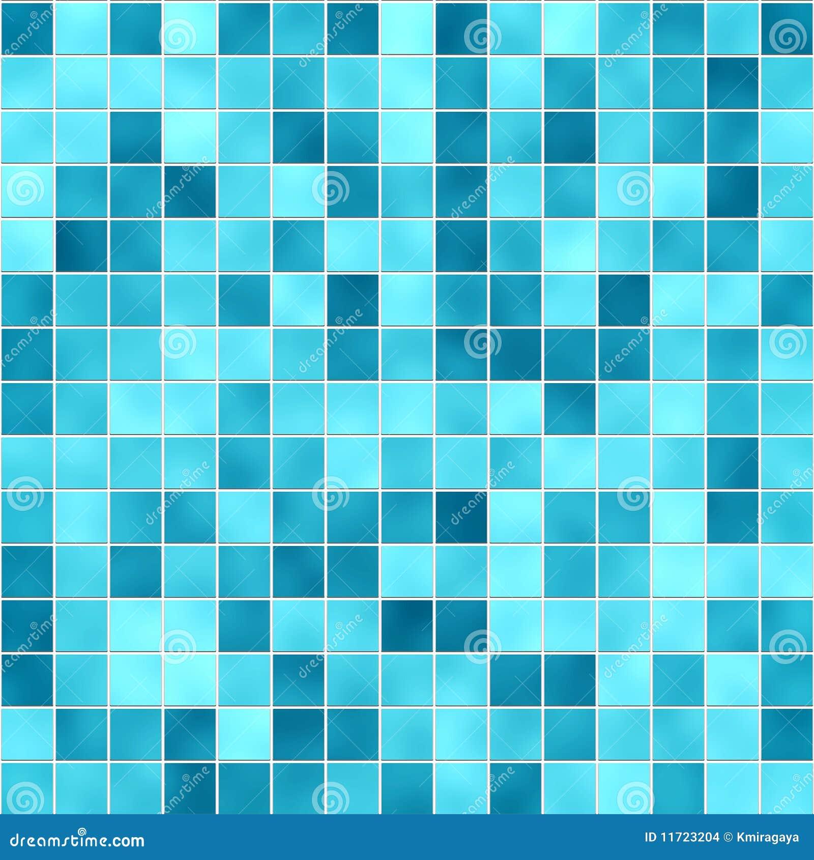 Peque a textura azul de los azulejos stock de ilustraci n for Azulejo azul