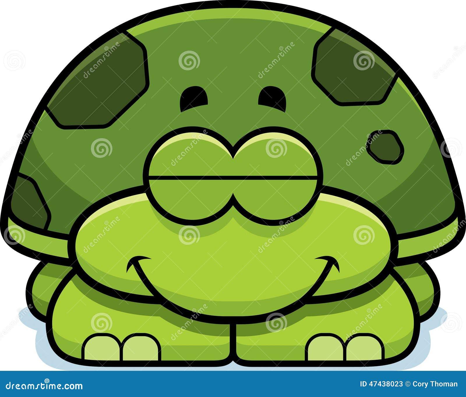 Pequeña tortuga el dormir