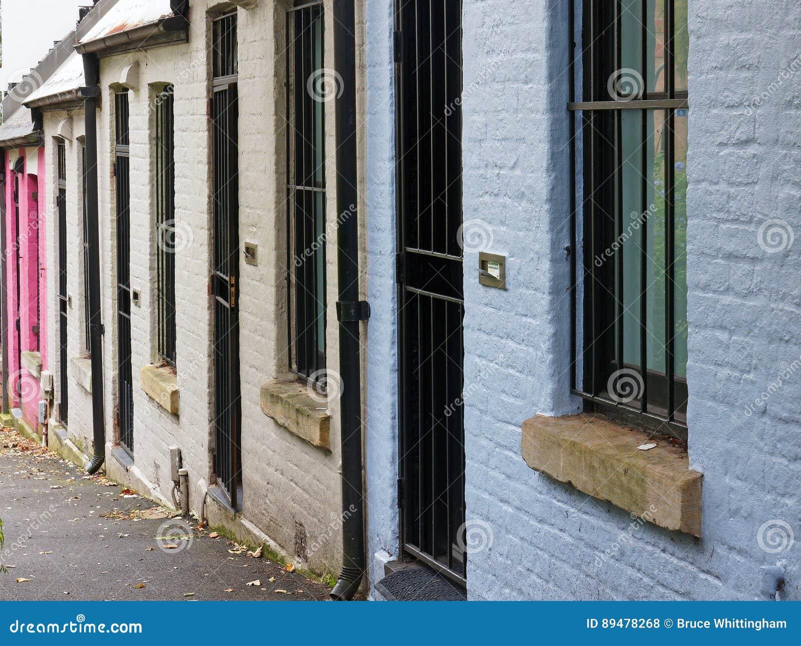 Pequeñas Casas De La Terraza Sydney Australia Foto De