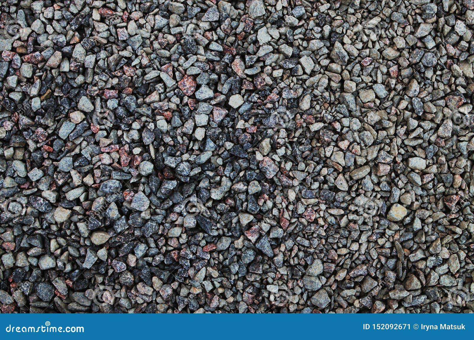 Pequeñas piedras para el fondo general