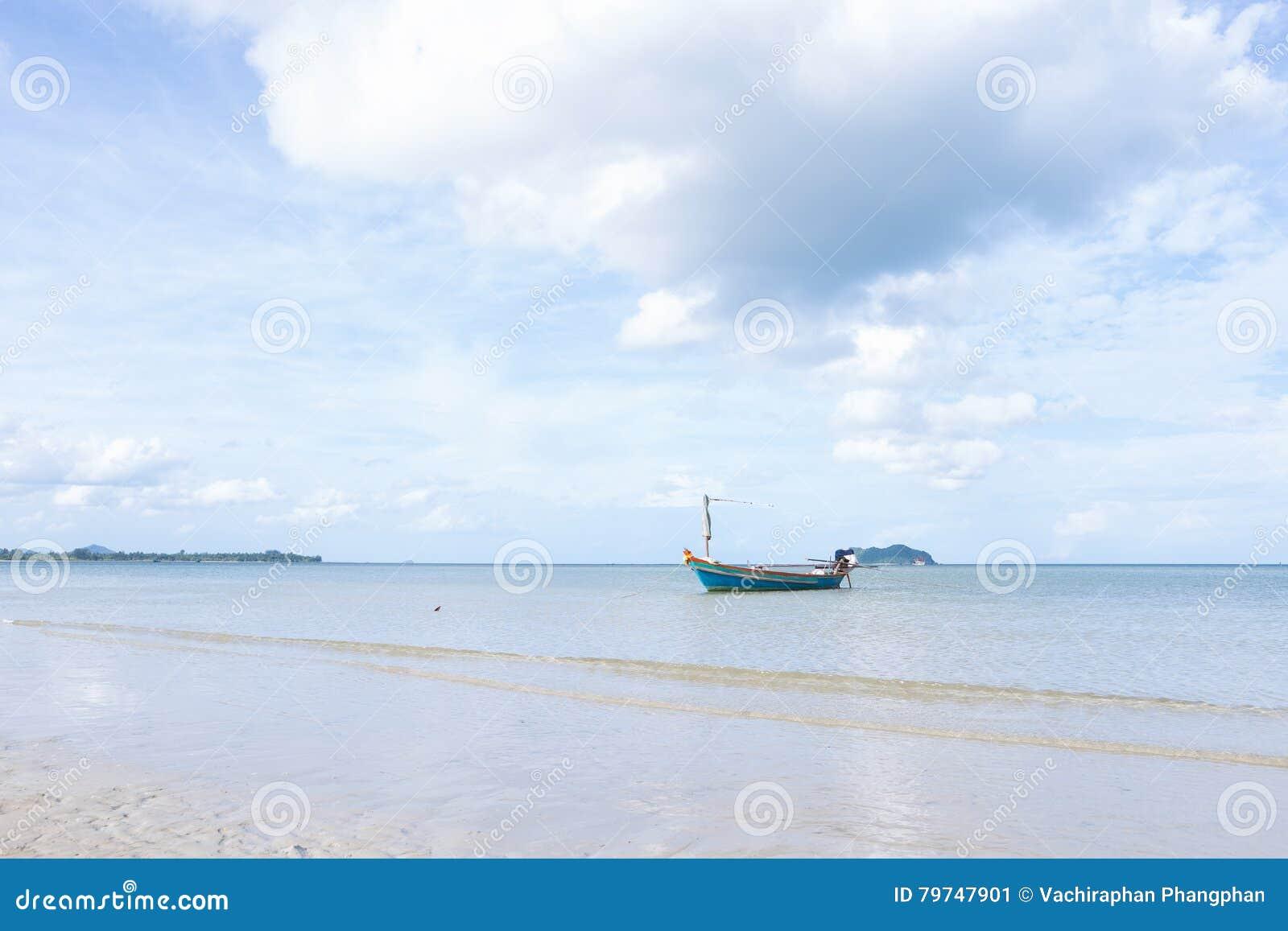 Pequeño barco de pesca