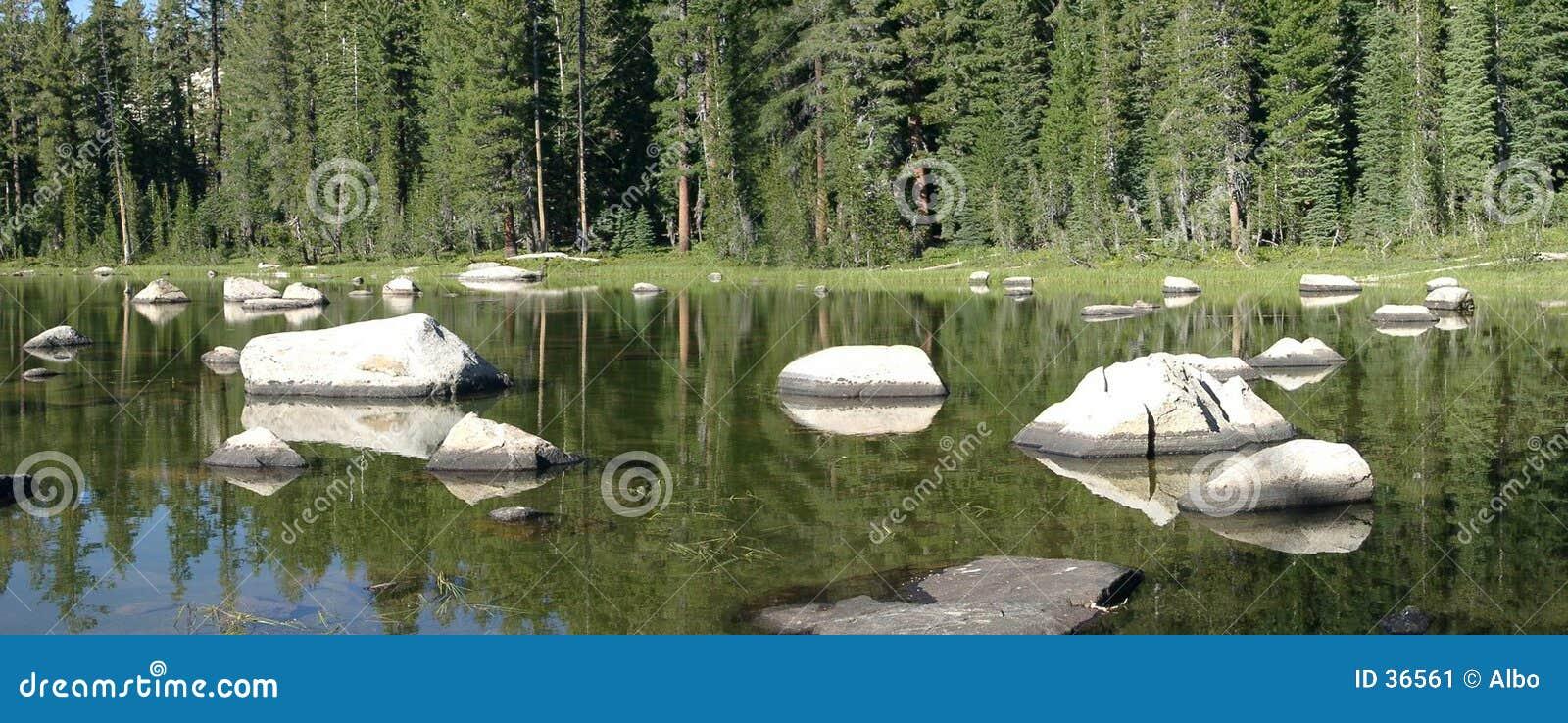 Download Pequeño lago imagen de archivo. Imagen de cubo, espejo, américa - 36561