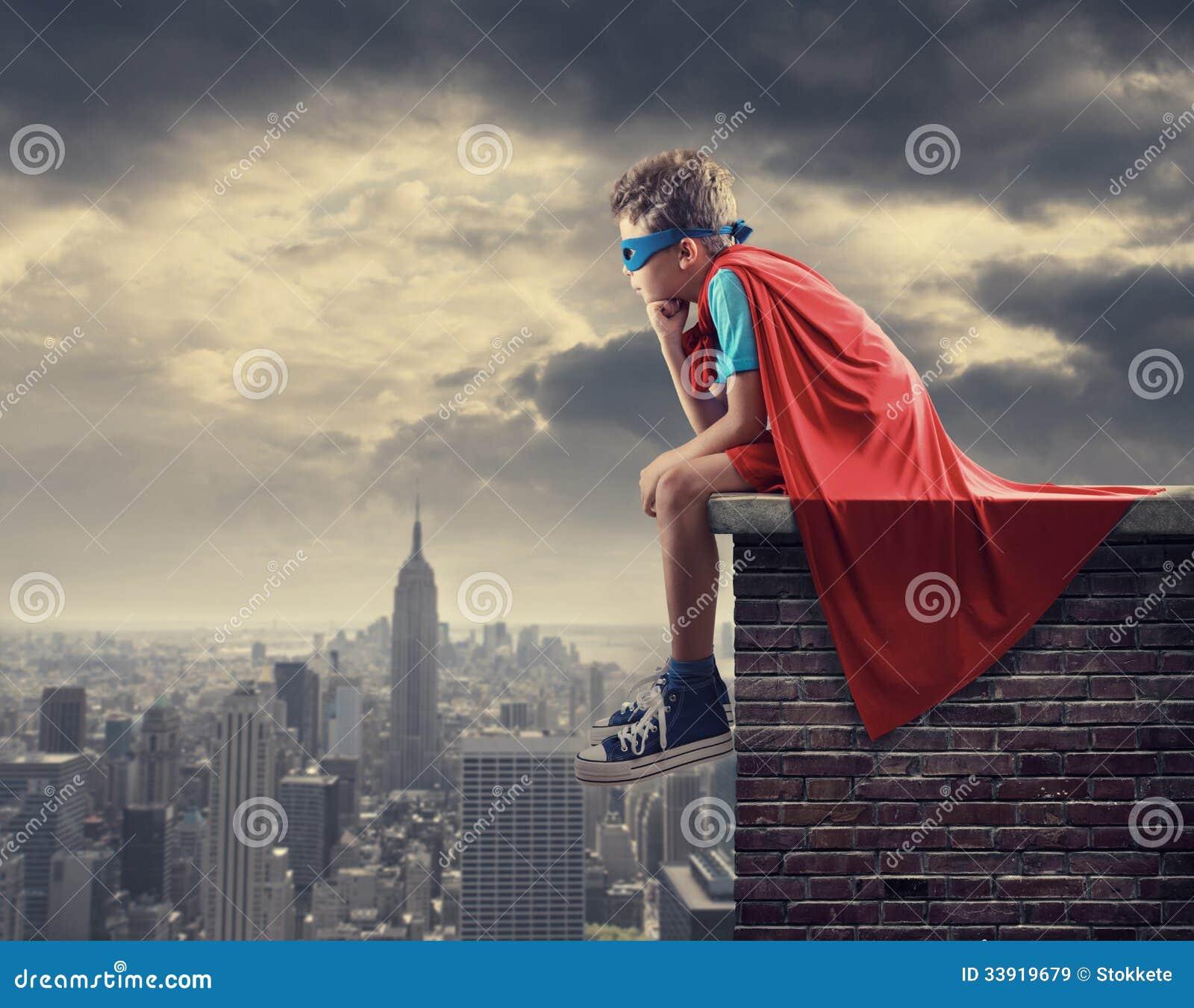 Pequeño super héroe