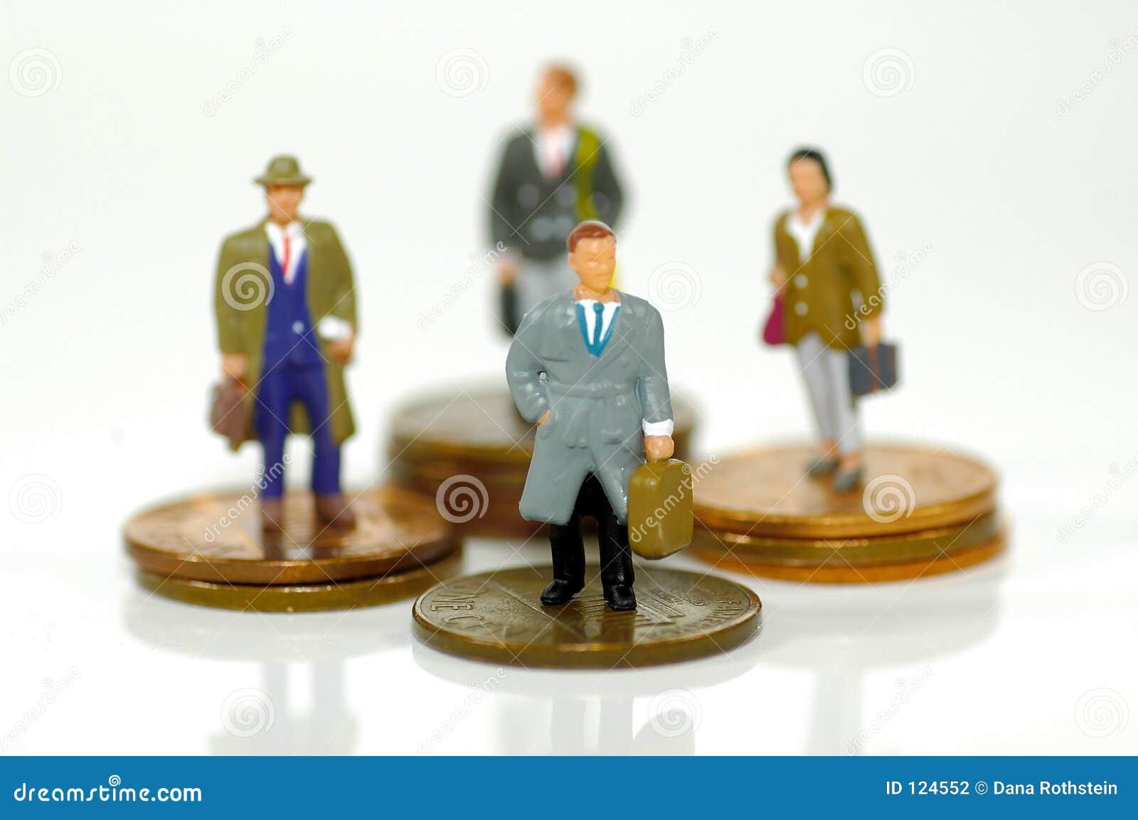 Pequeños hombres de negocios 2