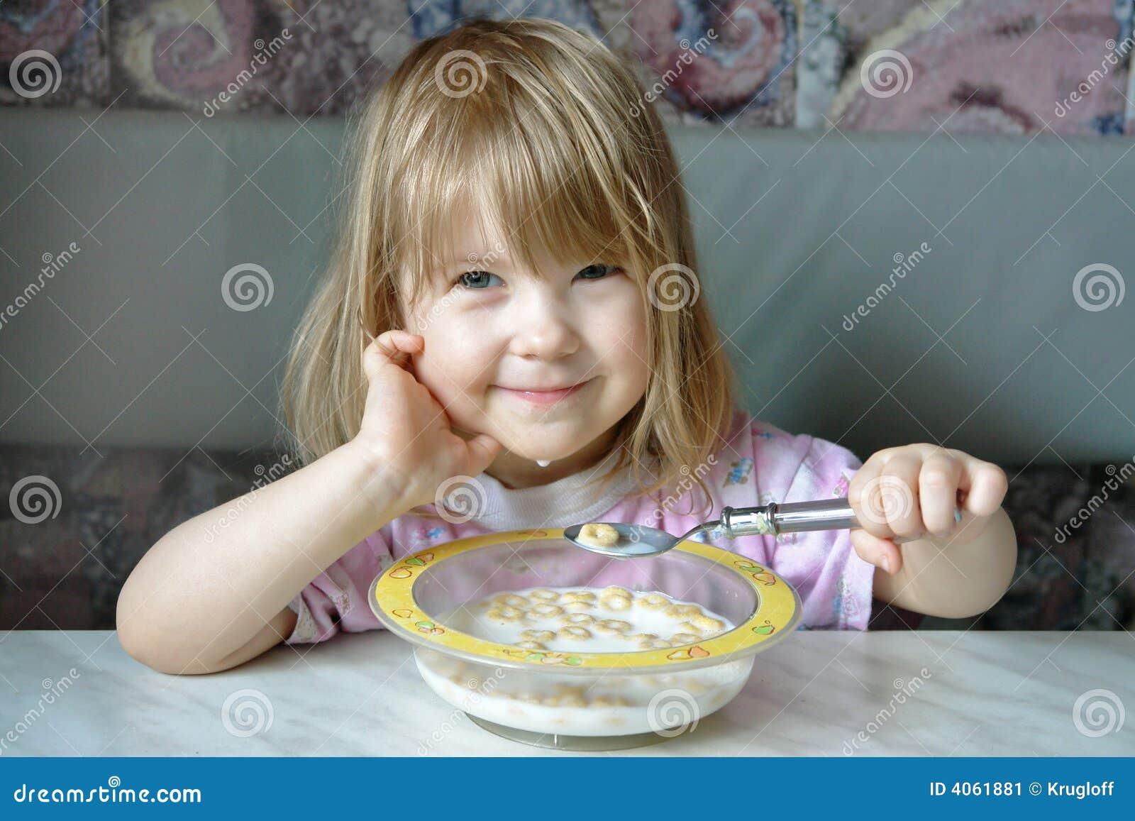 Pequeno almoço alegre