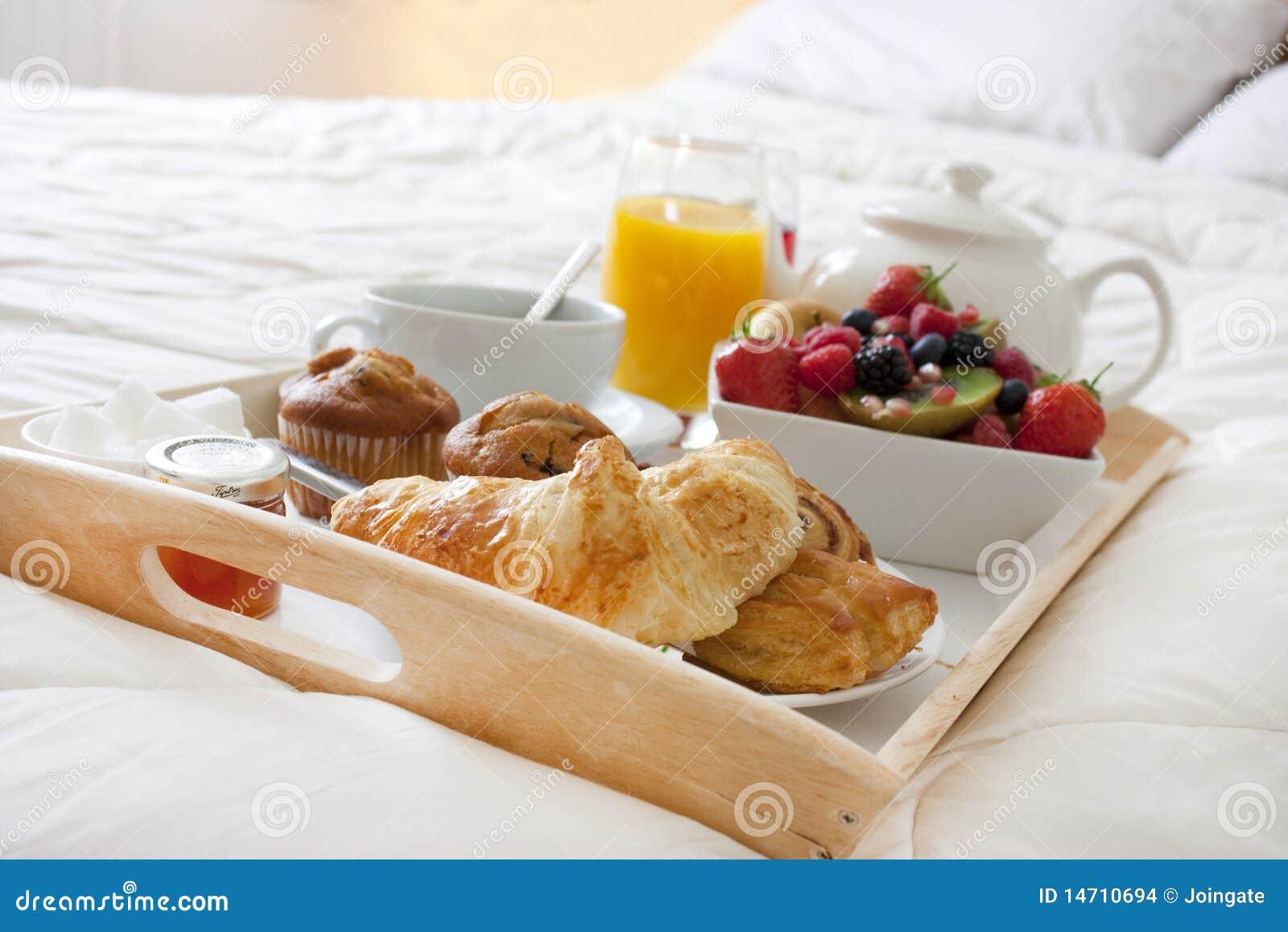 Pequeno almoço na cama