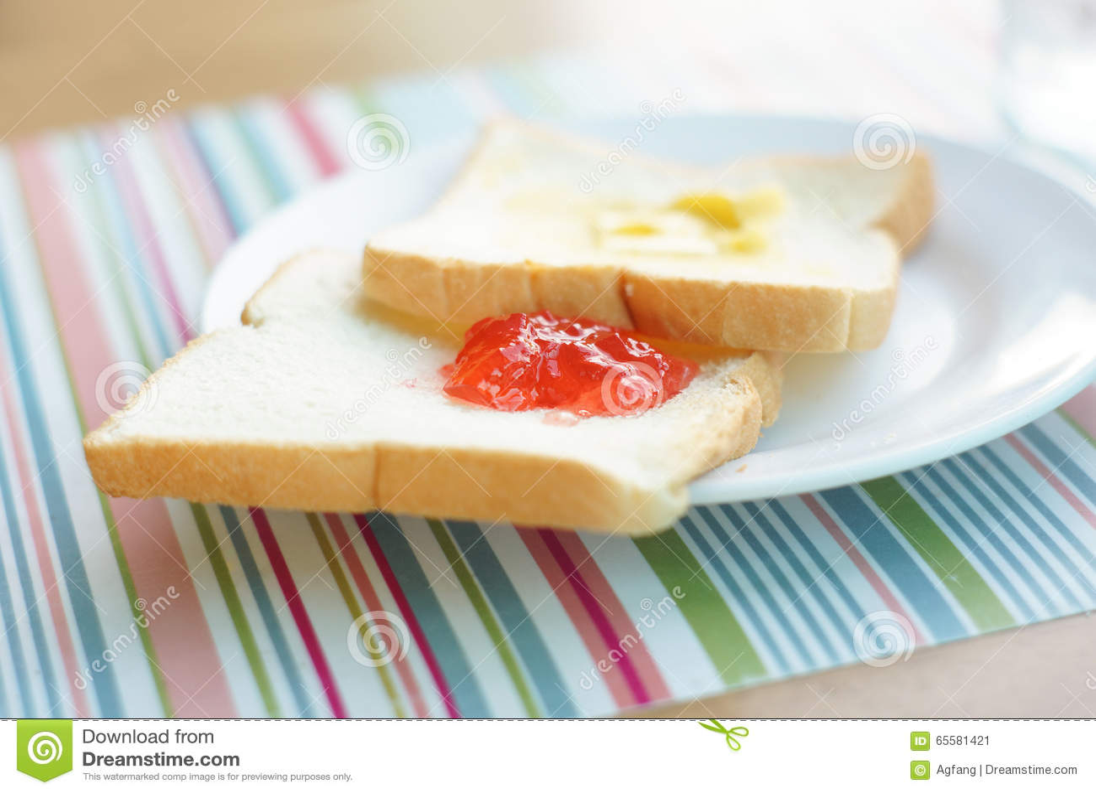Pequeno almoço simples