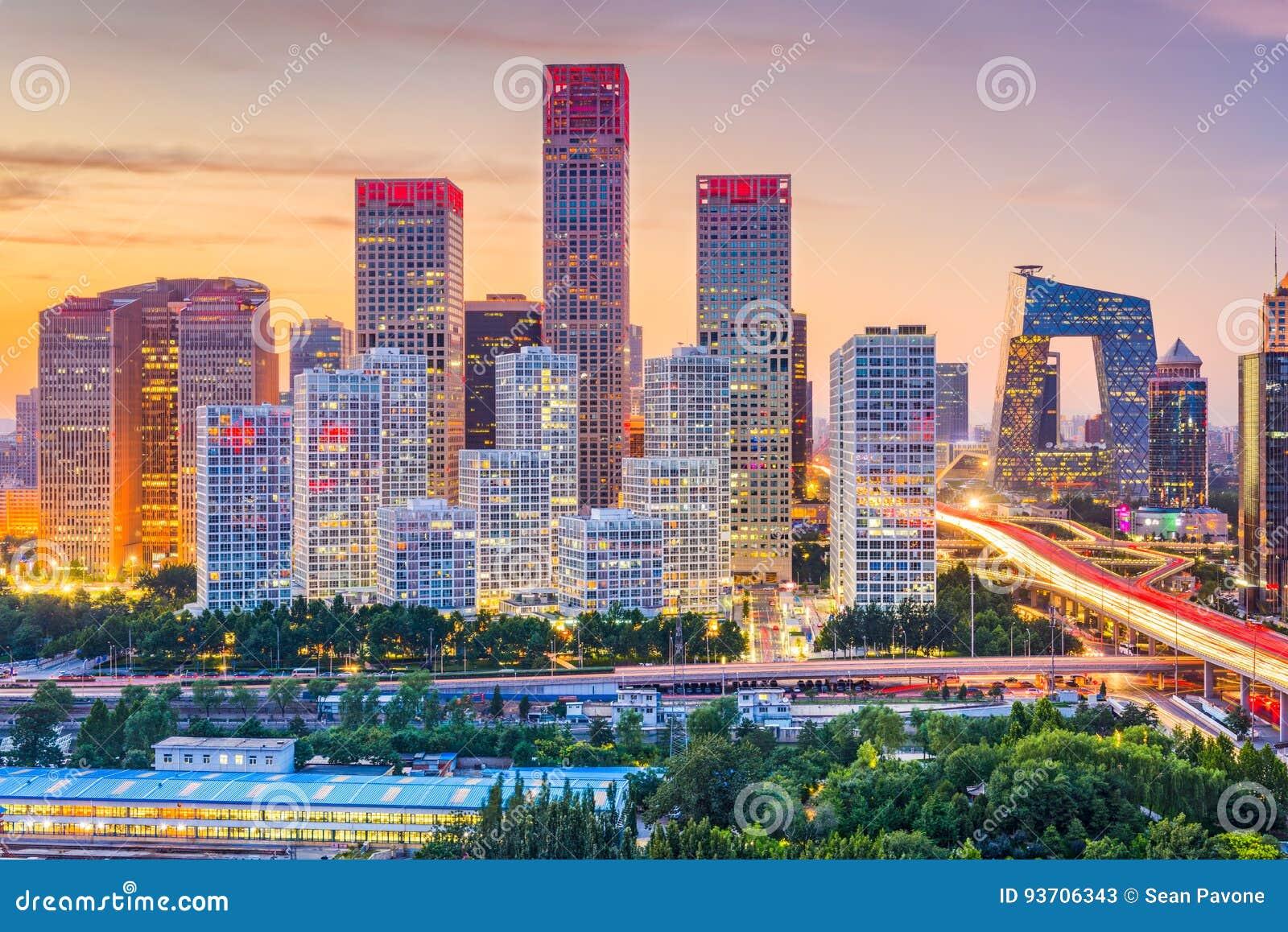Pequim, skyline de China