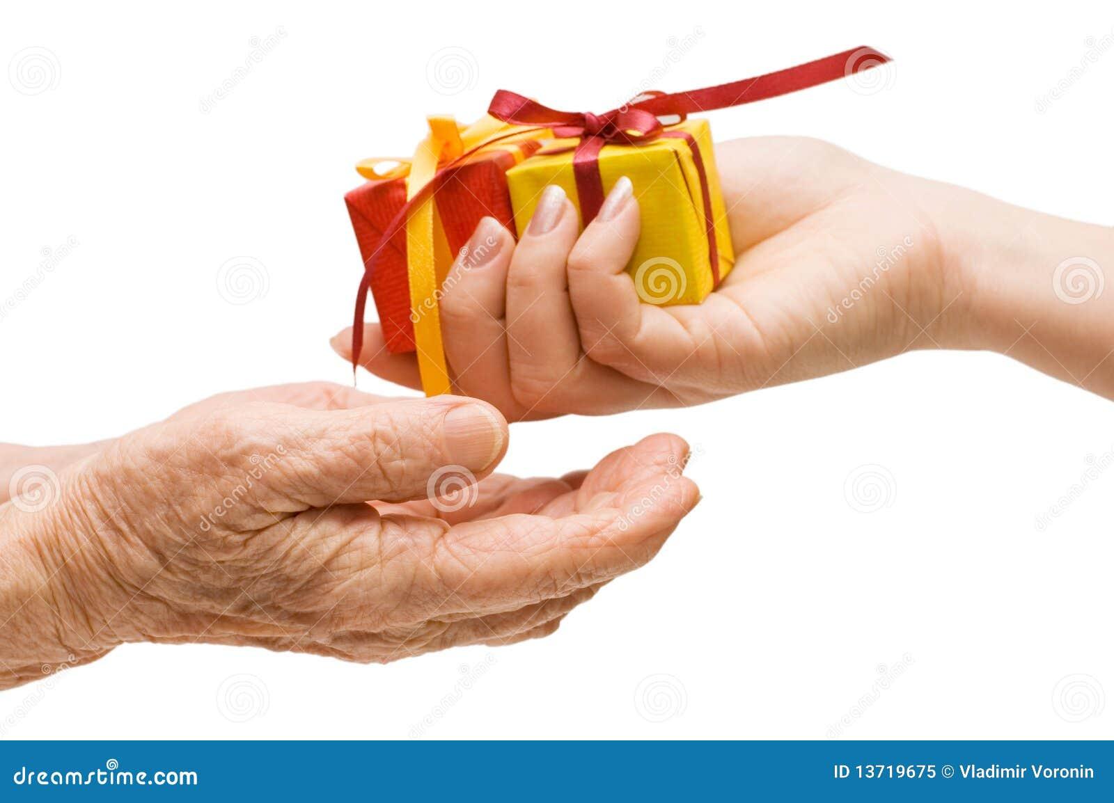 Per per passare un regalo