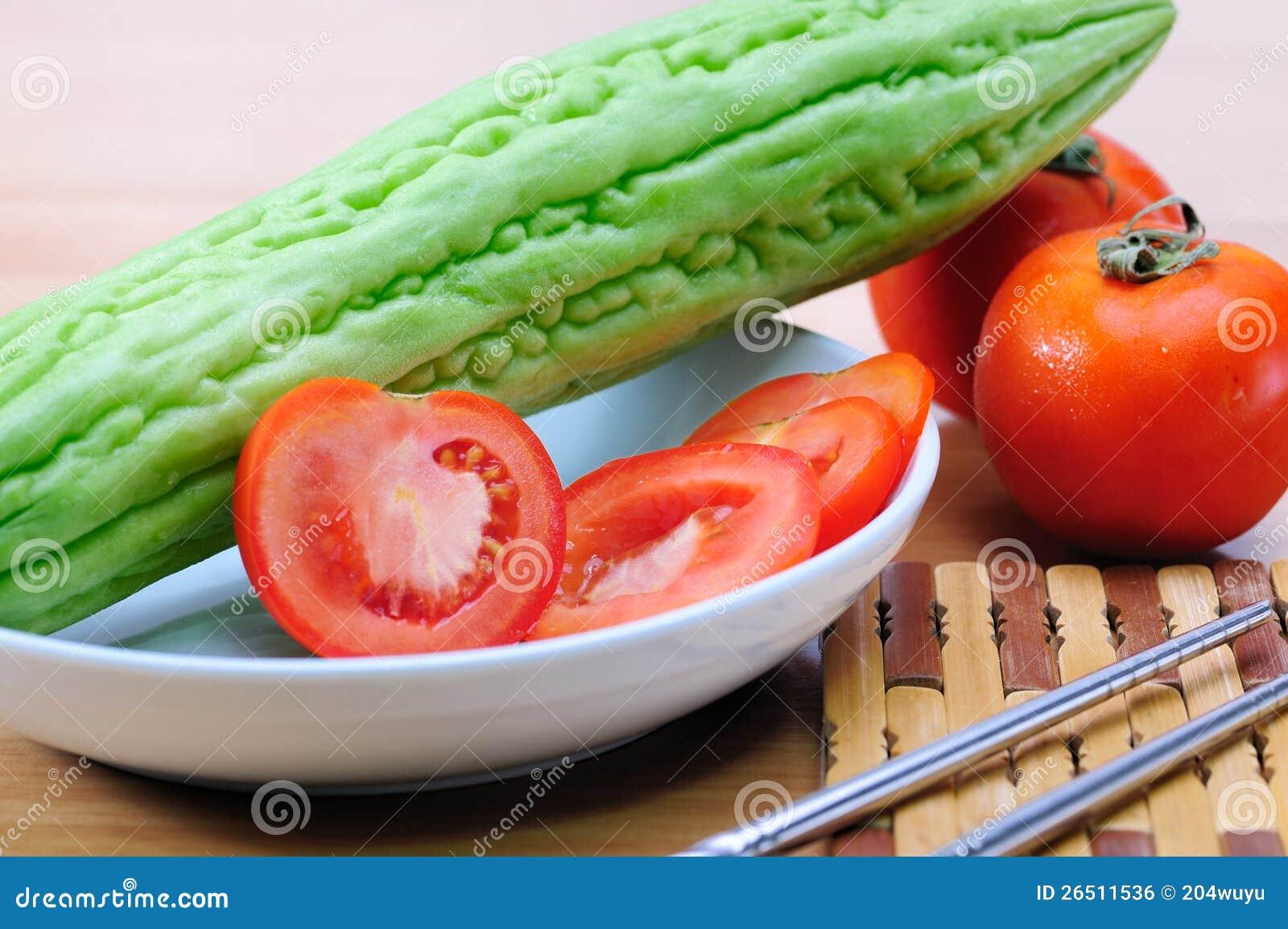 Pera do tomate e de bálsamo
