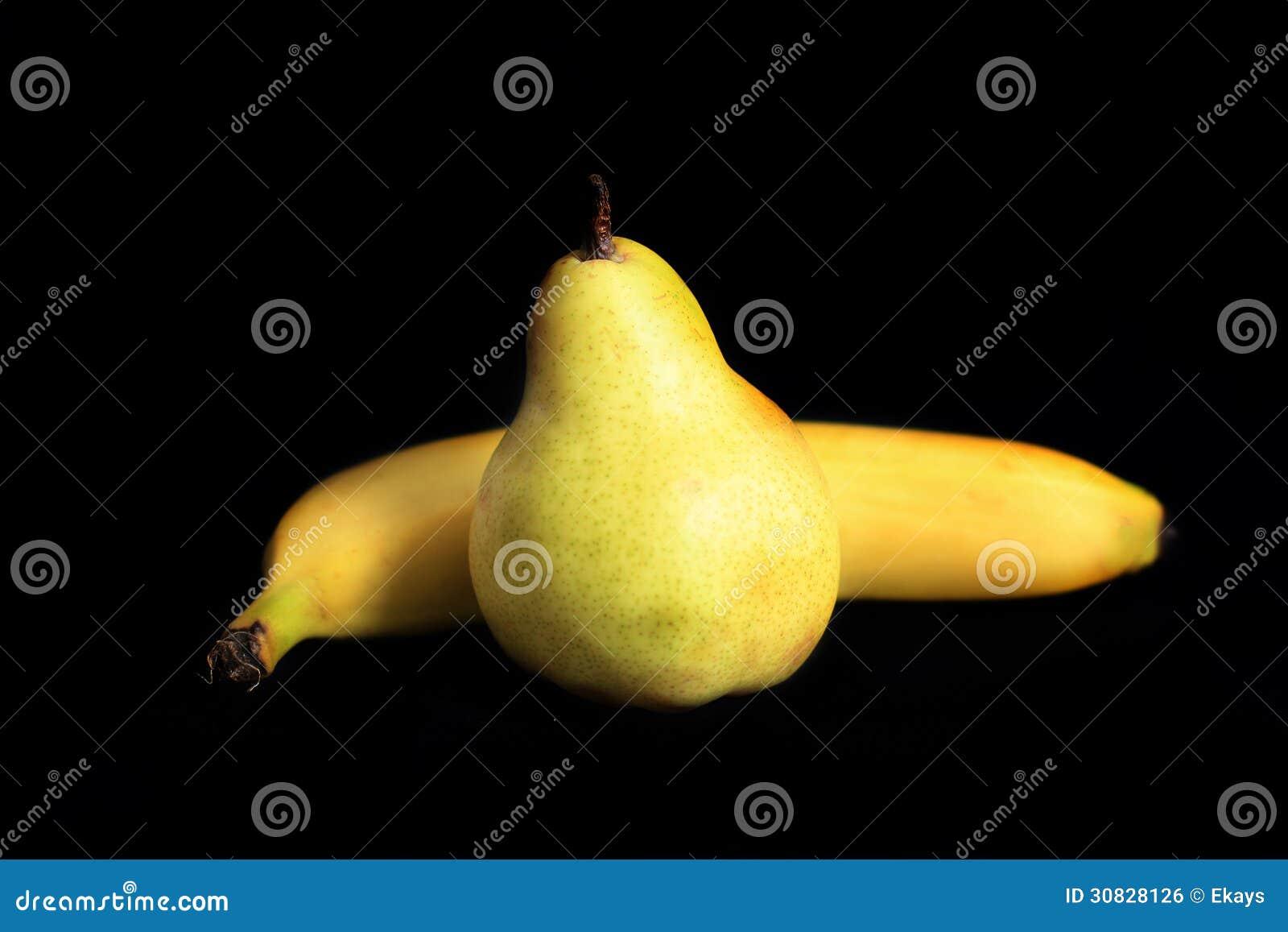 Pera e banana