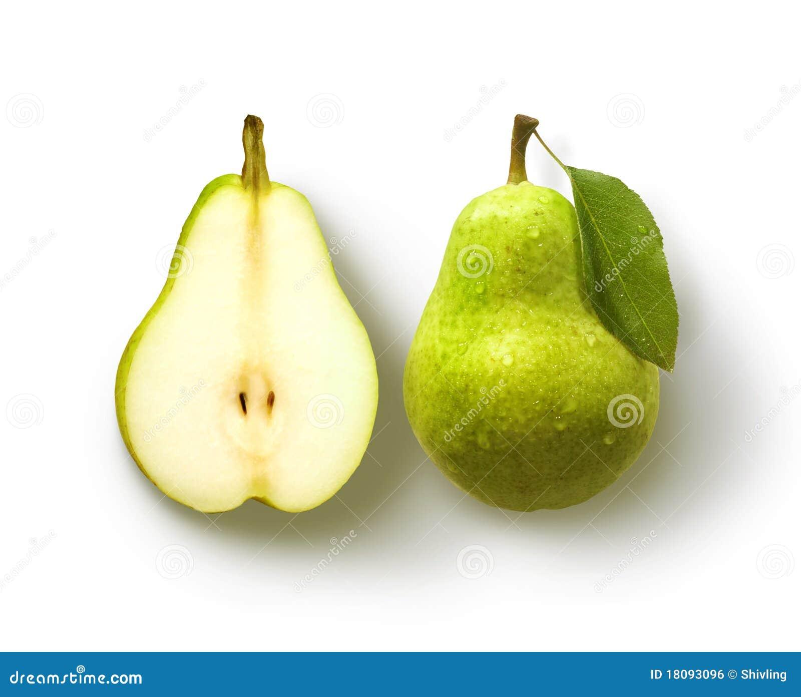 Pera y media pera
