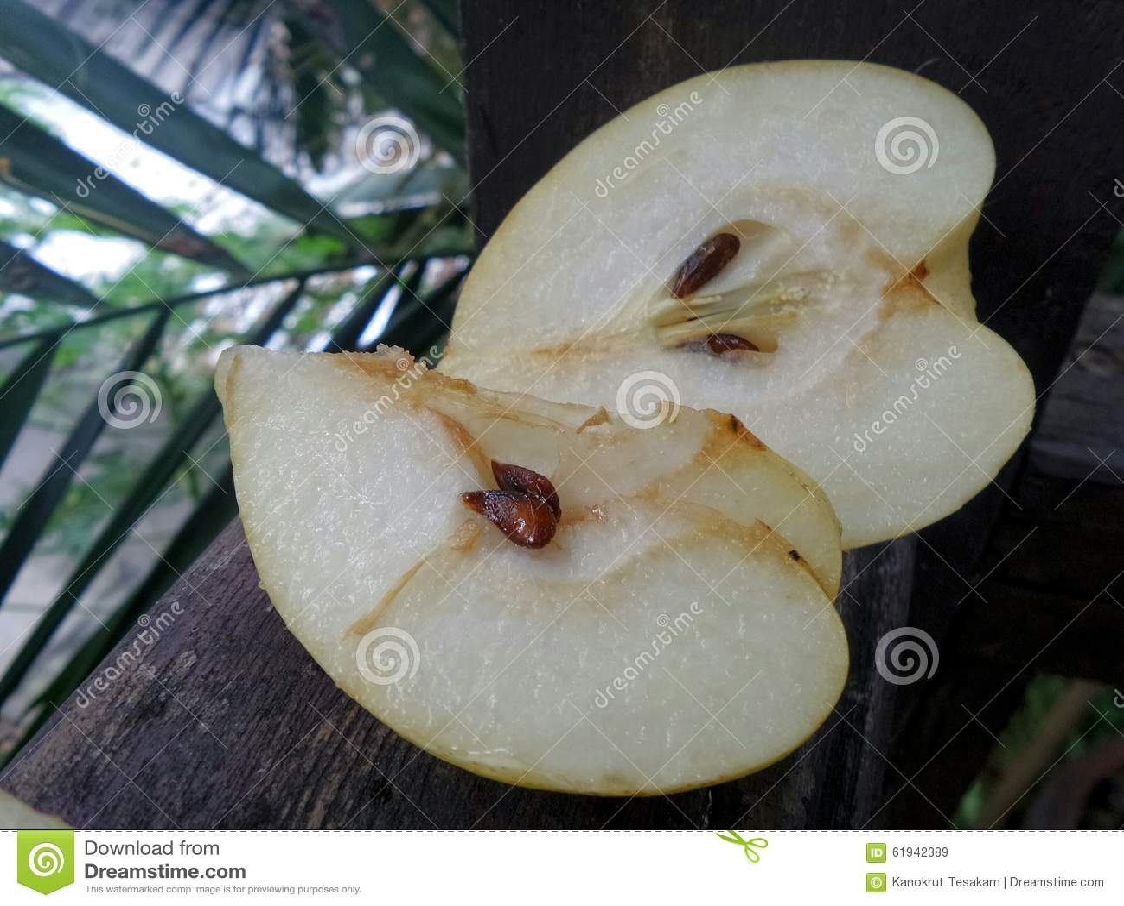 Peras chinas jugosas frescas y dulces del  de SliceÄ