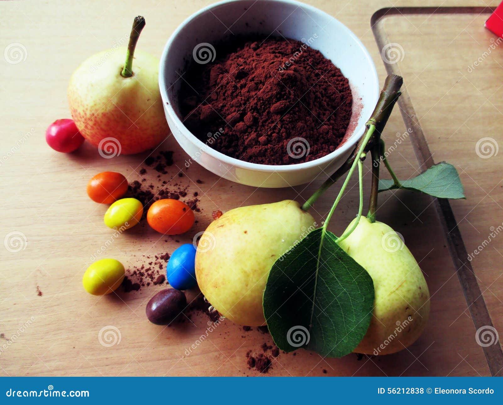 Peras y chocolate (ficheros de la asignación)