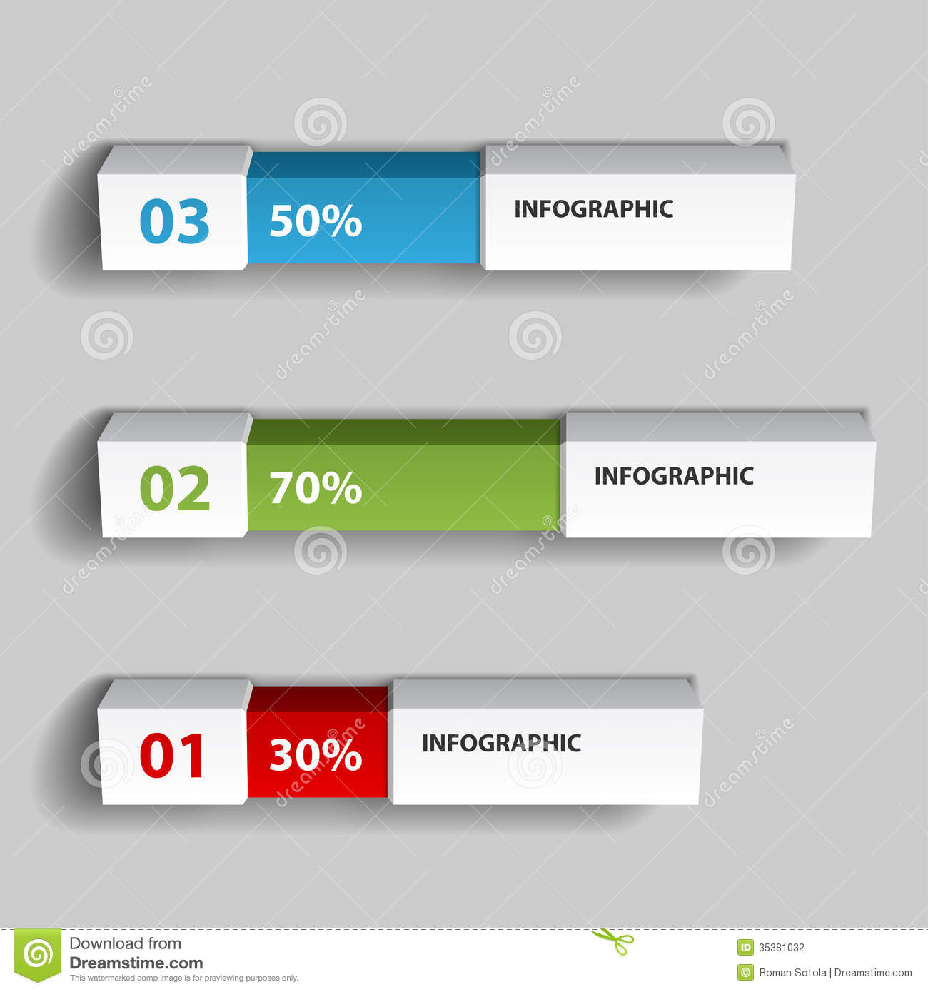Percent Infographic Chart Design Template Stock Photography - Image ... Z Table Chart