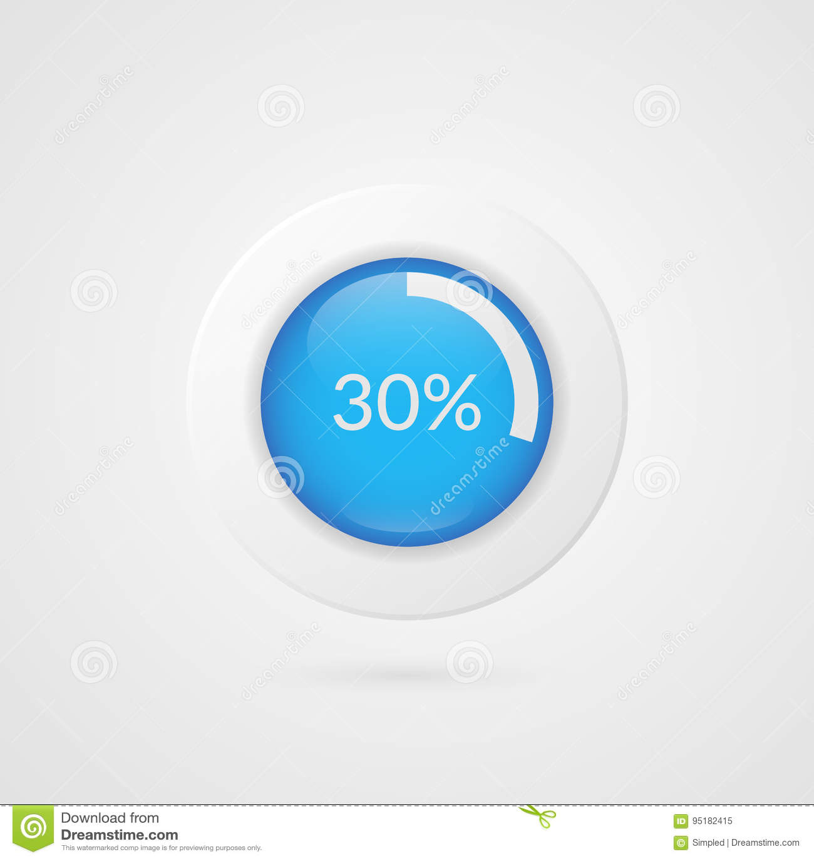 30 percent pie chart percentage vector infographics thirty circle 30 percent pie chart percentage vector infographics thirty circle diagram isolated symbol business illustration icon nvjuhfo Choice Image