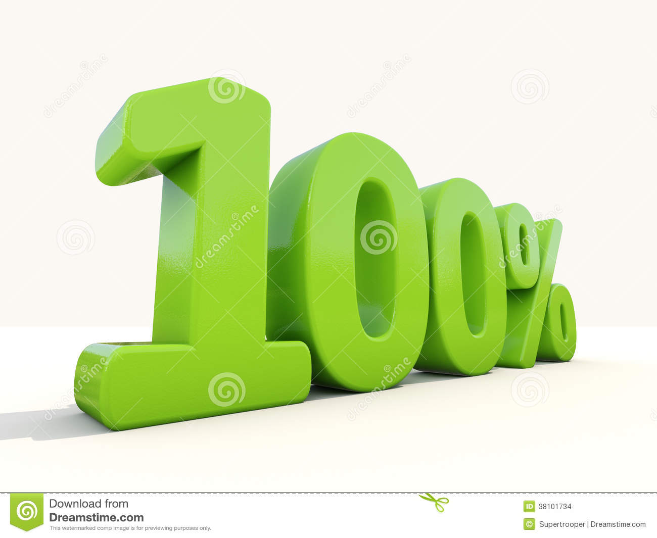 100 percentage rate icon on a white background stock images image