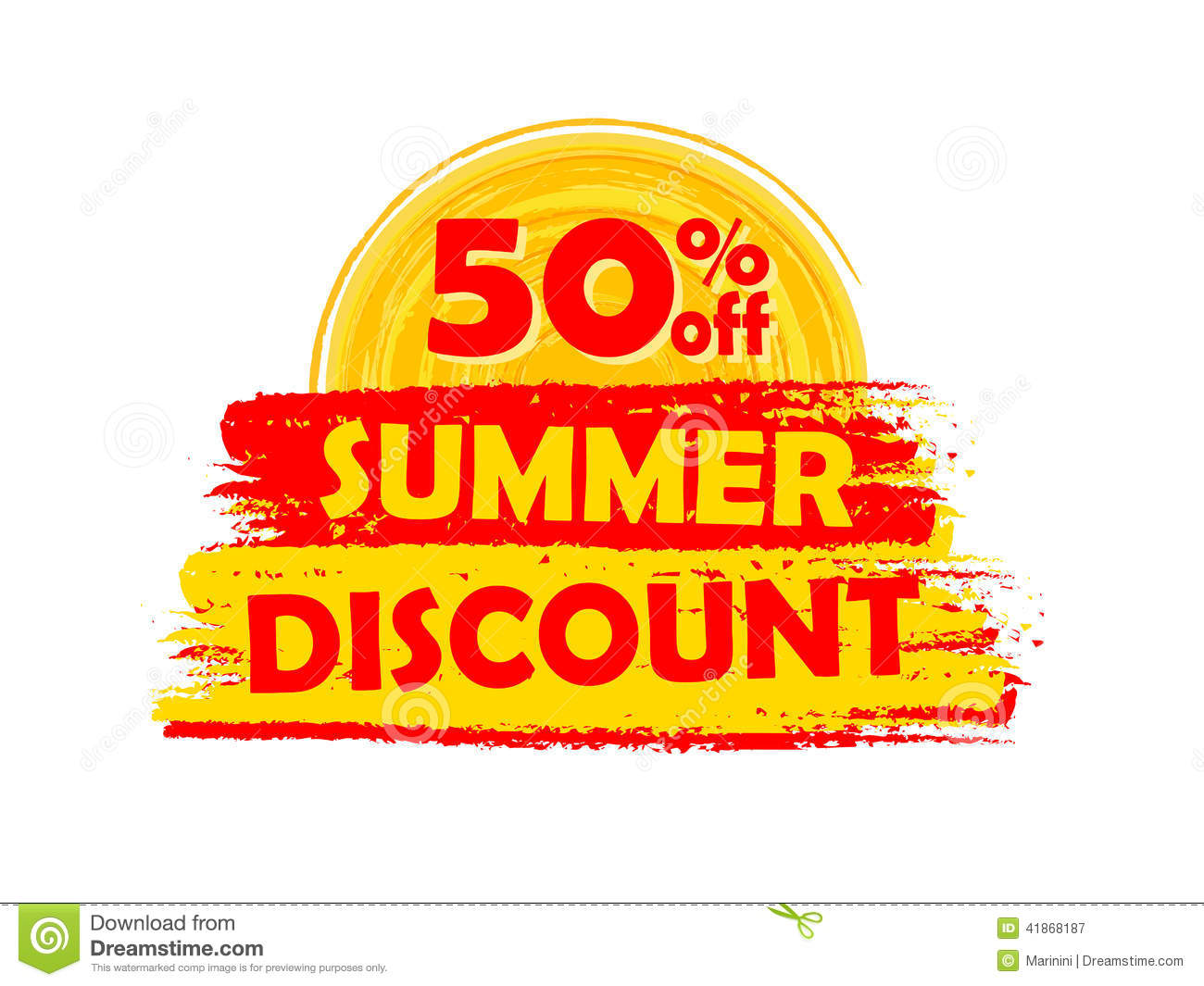 Details about  /Clearance Summer Banner up to 50/% OFF Discount Advertising Vinyl Sign 4/' x 10/'